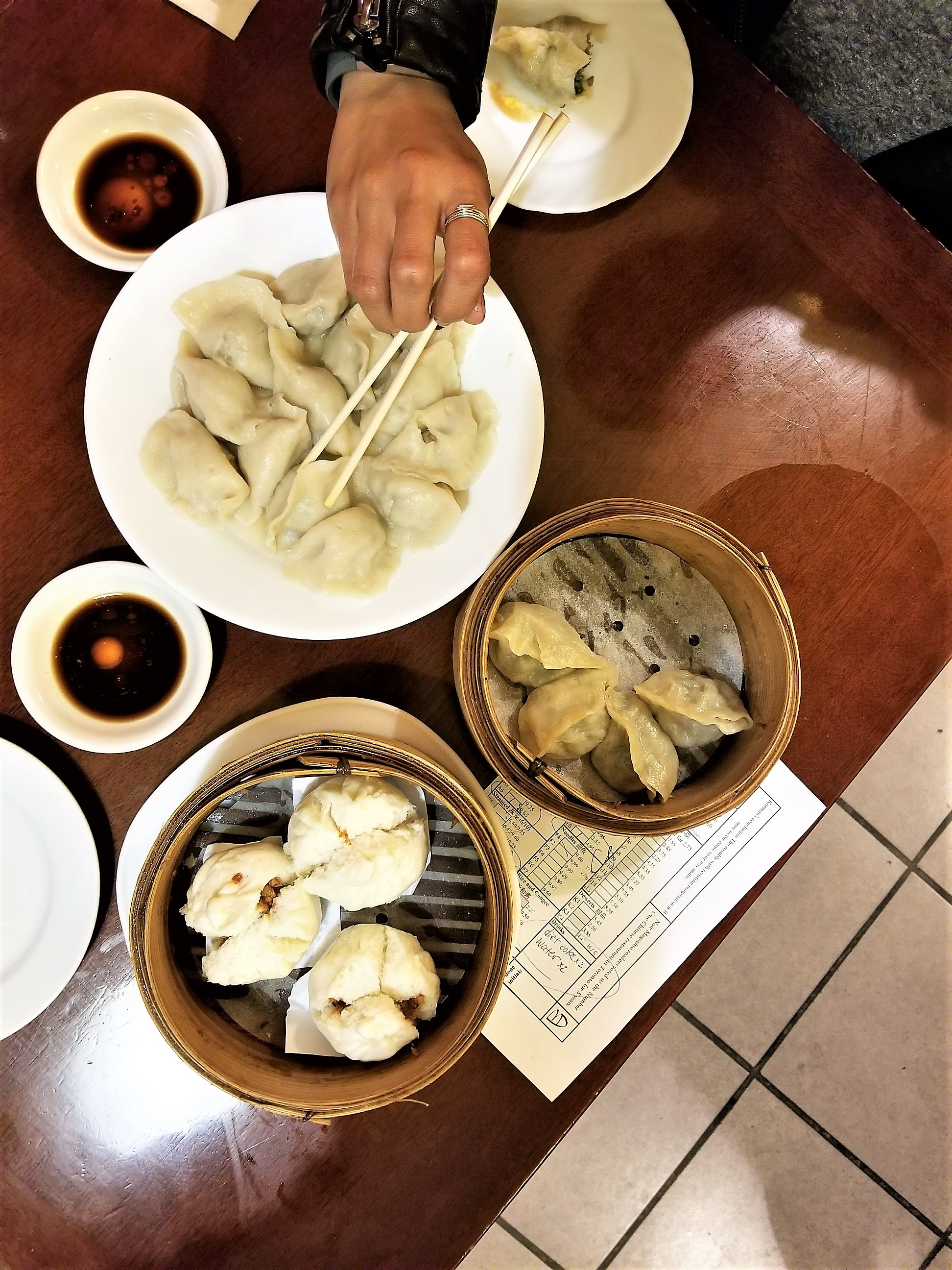 If you are a dumpling lover,  Mother's Dumplings  is where it's at. We ordered some dumplings and steamed buns, all of which were tasty.