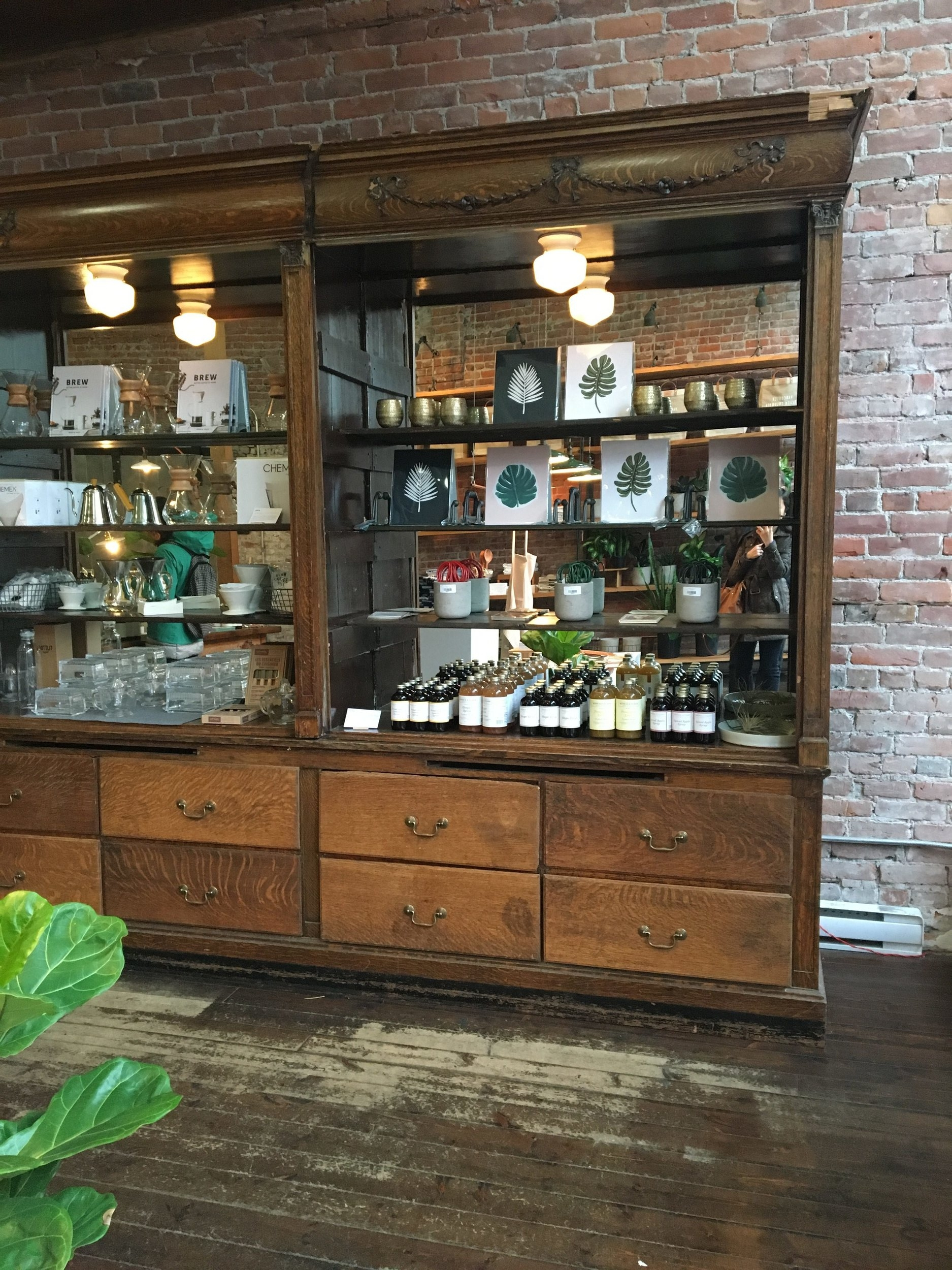 There were so many cute shops we popped into along the way. One being  Old Faithful Shop  in the Gastown neighborhood. Think of this as a general store, filled with beautifully curated wares and goods.