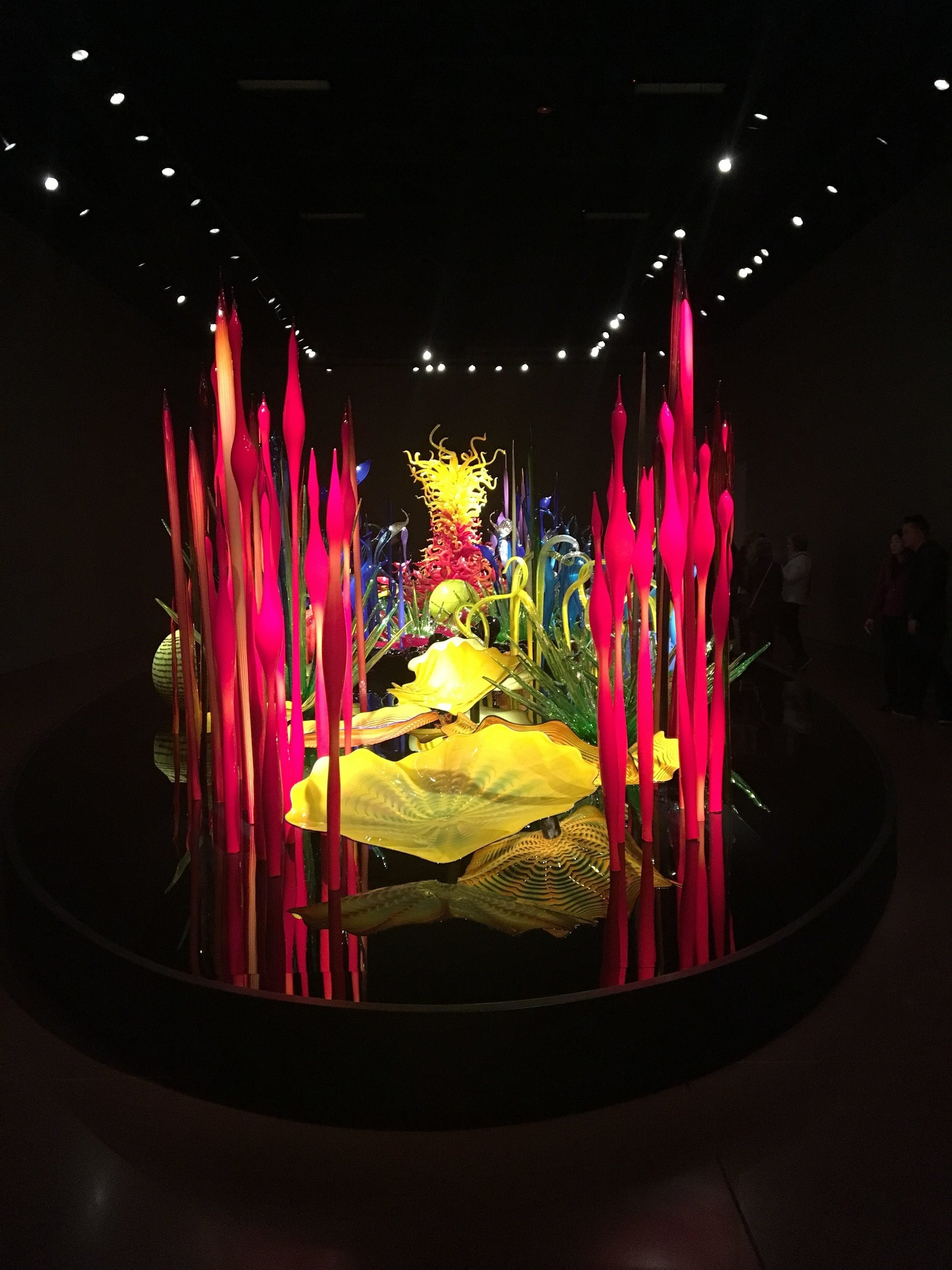 On our last morning in Seattle, we decided to visit the  Chihuly Garden and Glass  museum. The only time I had seen any Chihuly work was at the Belagio in Vegas. It was pretty cool seeing most of his work under one roof and in one garden.