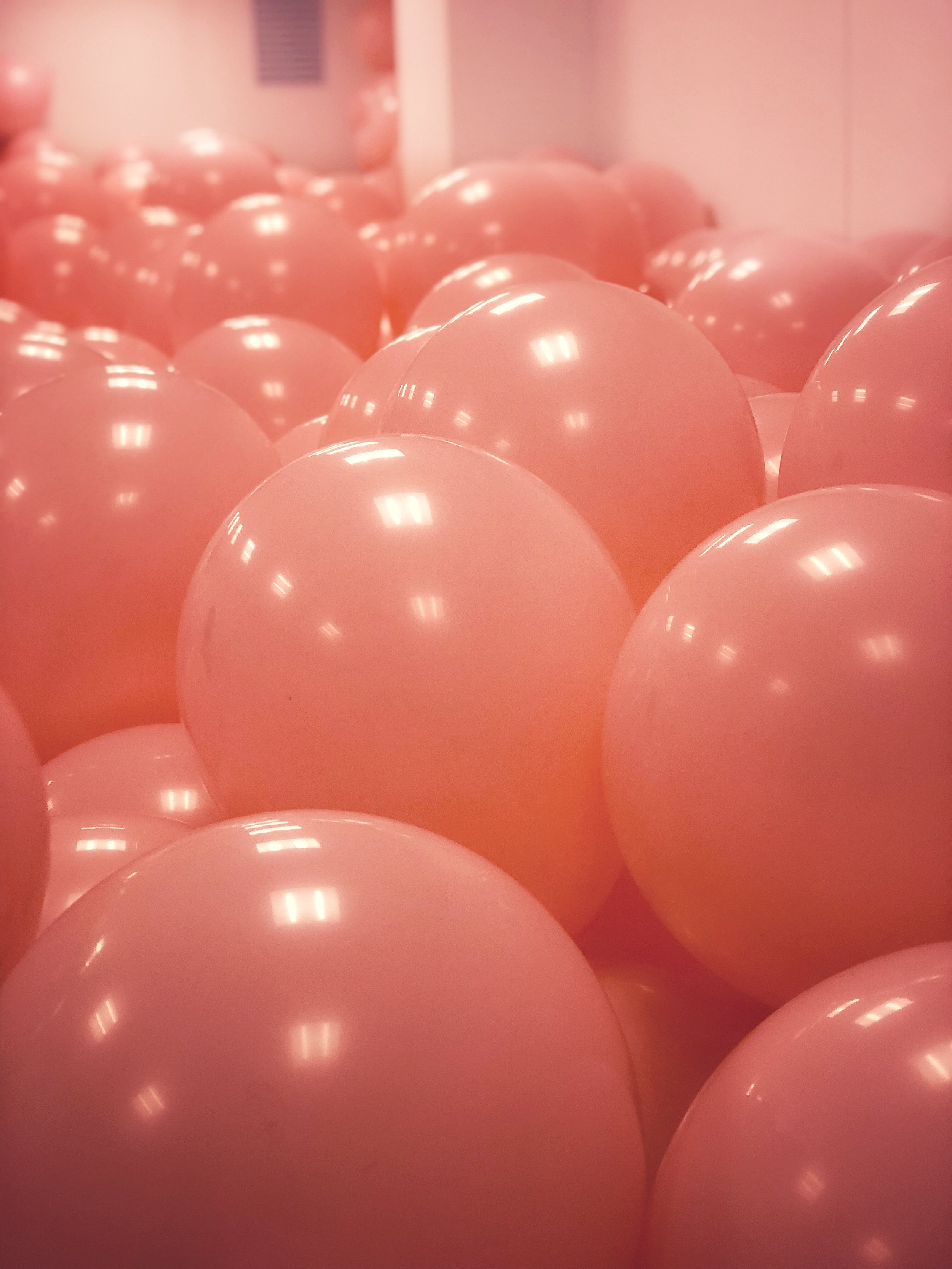 On the agenda for the afternoon was a visit to the  Peabody Essex Museum , which I have not visited before. We were lucky to have caught the Playtime Exhibit in its final days (it was closing up the next day). One of the highlights of the exhibit was the pink balloons room. Literally a room filled with pink balloons. I felt like such a little kid wading through the balloons and trying to gracefully exit the room without letting any of the balloons escape with me! There was another room with these colorful spinny things (yes, I'm being real technical here) that were pretty cool too. It was a very interesting exhibit.