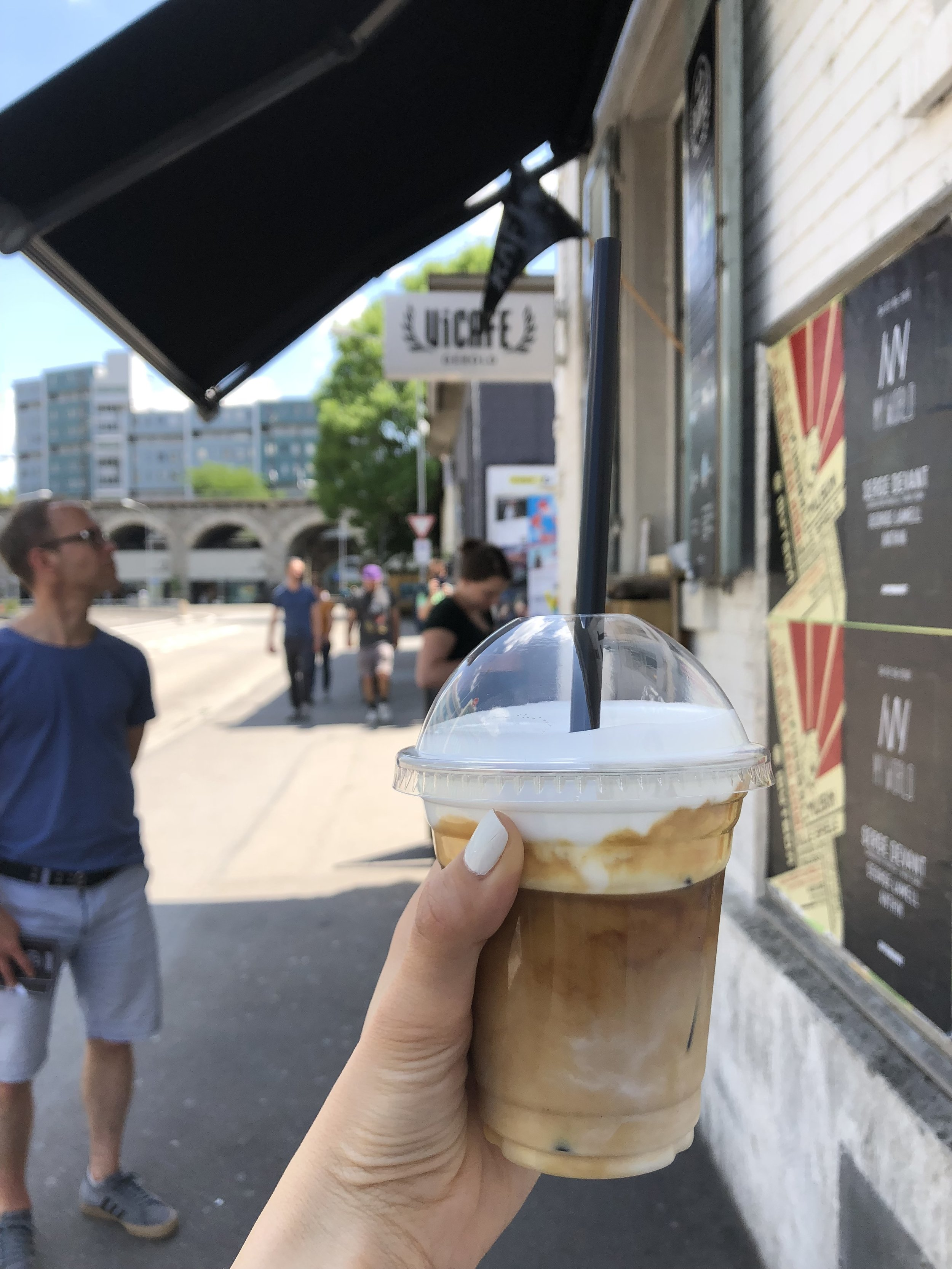 This was an amazing cup of iced cappuccino that was enjoyed on a very hot day.  Vicafe  is a coffee shop that is located in the Viaduct neighborhood (which I'll talk about later on in the post). This was worth the stop!