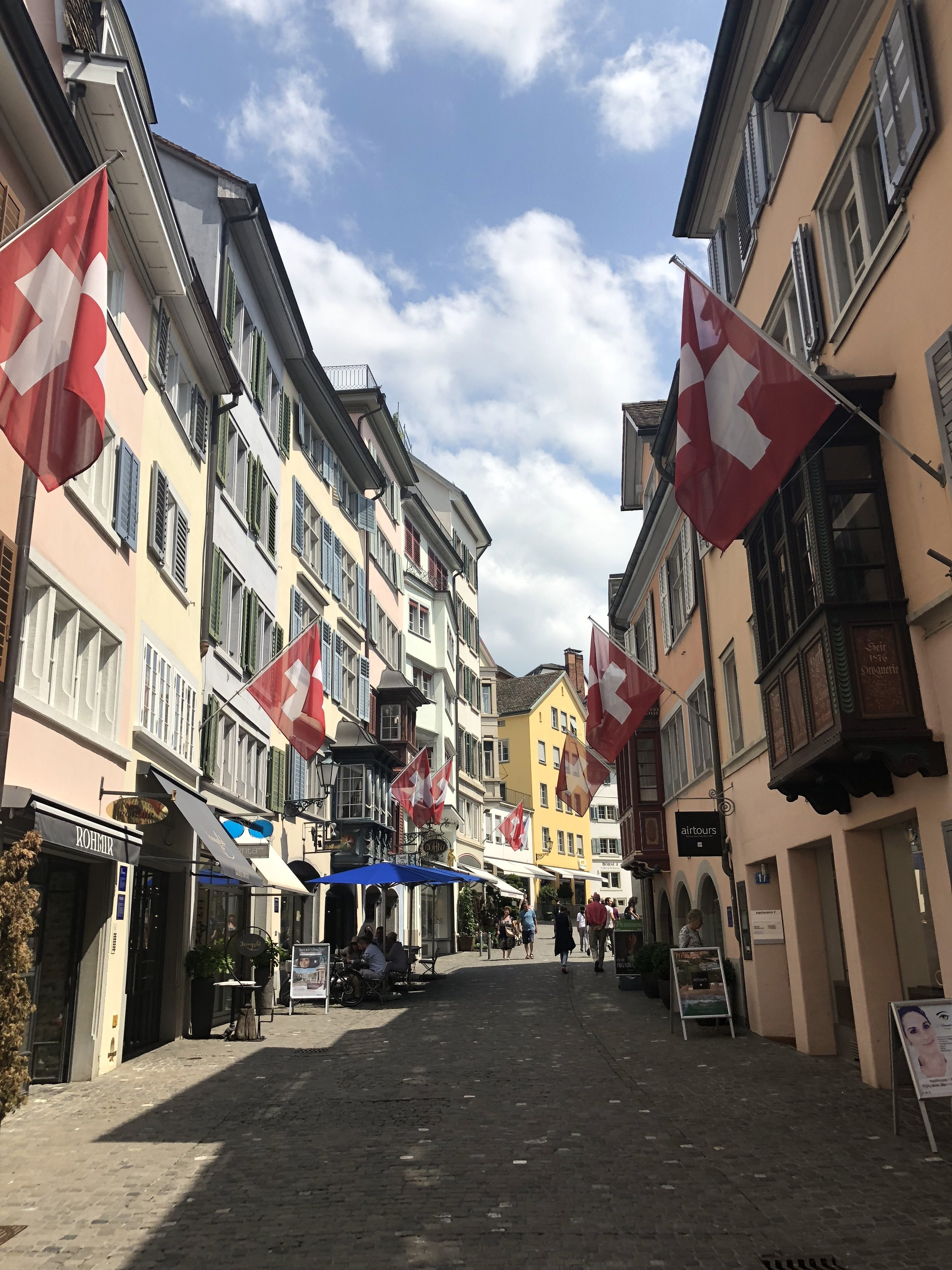 Zurich, you were good to us and now we are off to our next stop: Lurcerne.