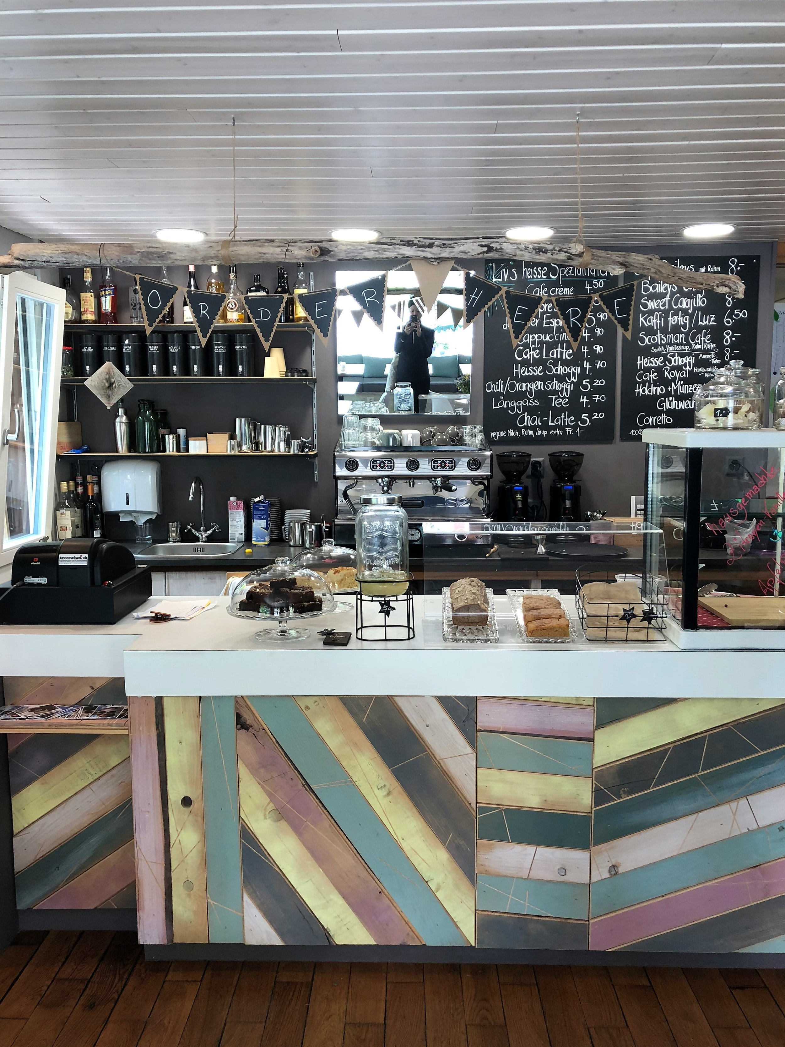 After returning from one of our hikes, we stopped by  Cafe Liv  for sandwiches to go and of course, a few of their pastries. It's the cutest little cafe and the items we purchased were delicious!