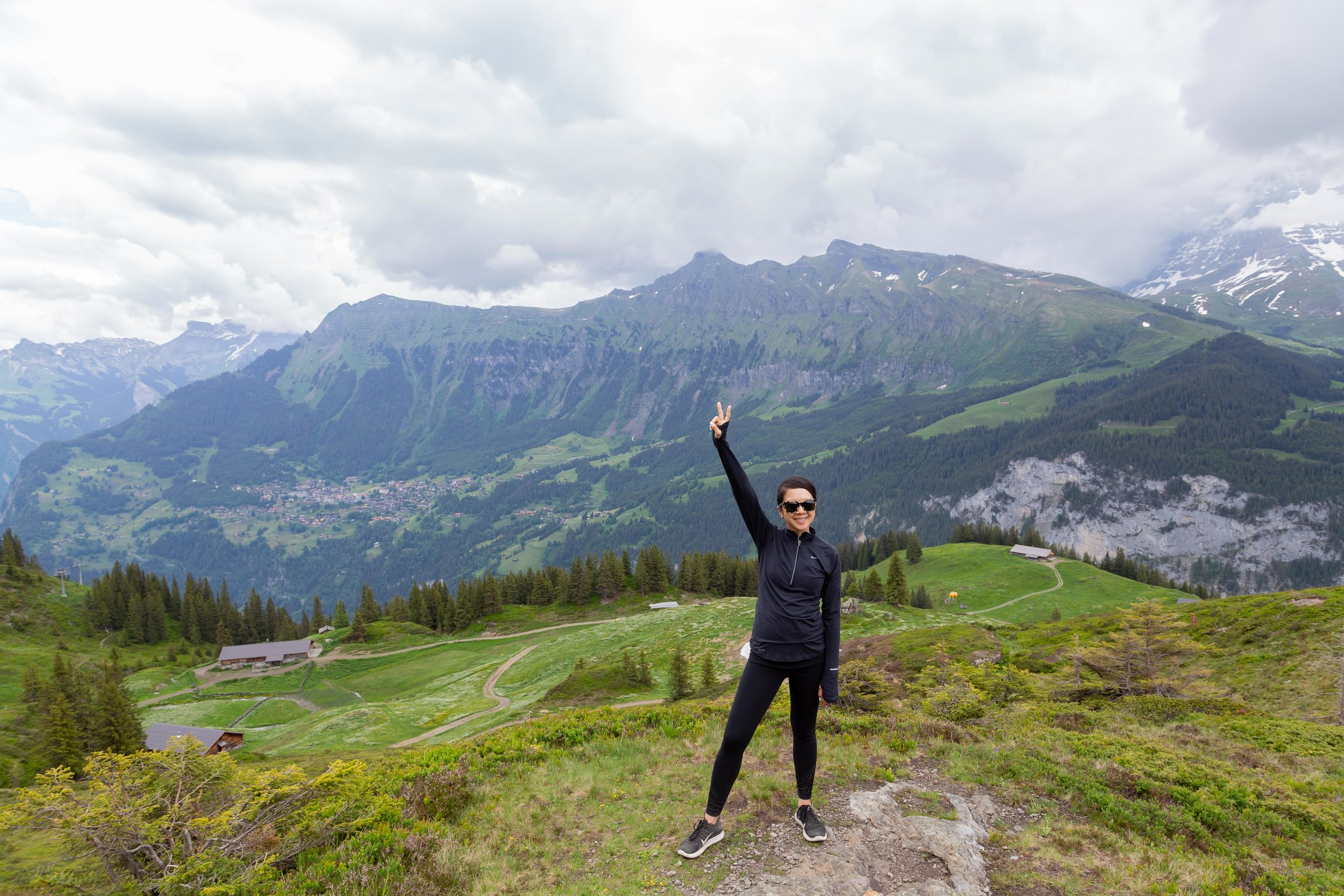 As my high waisted workout pants started becoming super uncomfortable, it was time to bite the bullet and pick up a pair of maternity ones. I opted for a pair of the GFast full panel pants from Gap in XS (mainly because it was on sale) and I am happy I did. I brought these with me on our trip to Switzerland and they were perfect for our hikes. As I am still working out, I needed another pair and grabbed it from the  Isabel Maternity  line from Target, also in an XS. It comes with the full front panel with a good amount of stretch.