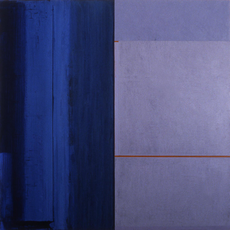 Janus XXIII, 1987, Acrylic on canvas over panels, 48 x 48 inches.