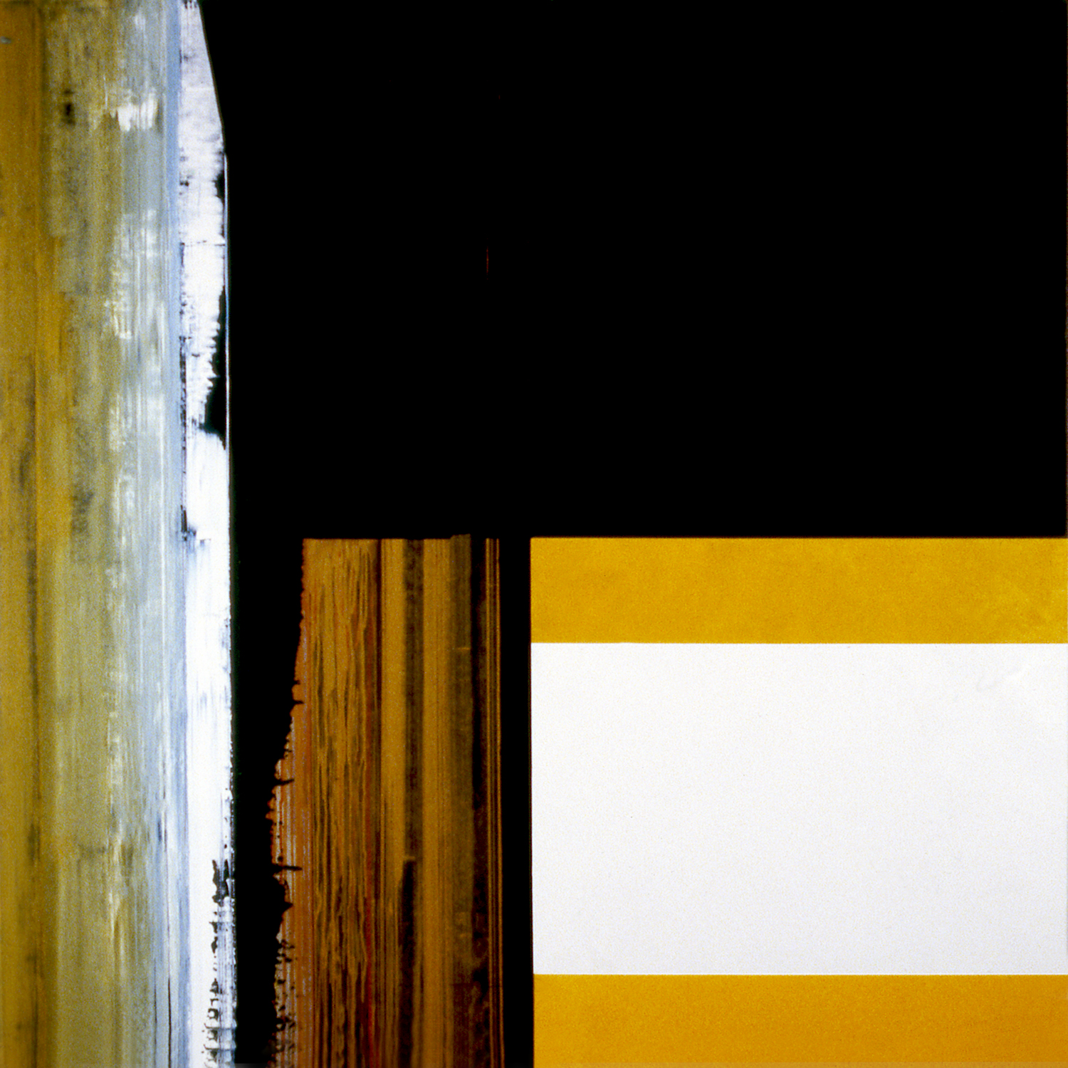 Janus XXXII, 1987, Acrylic on canvas over panels, 72 x 72 inches.