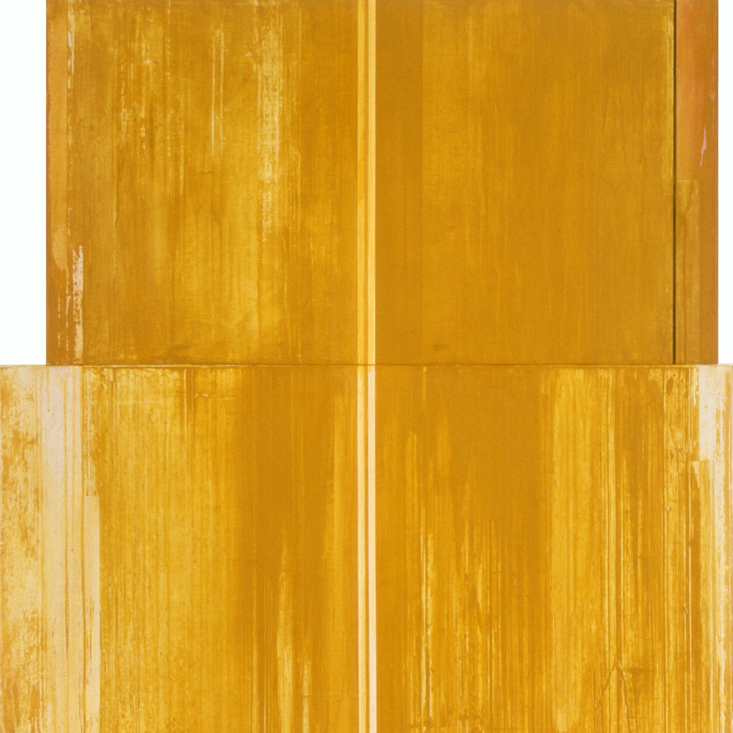 Divided Square 53, 1989, Acrylic on canvas over panels, 48 x 48 inches.