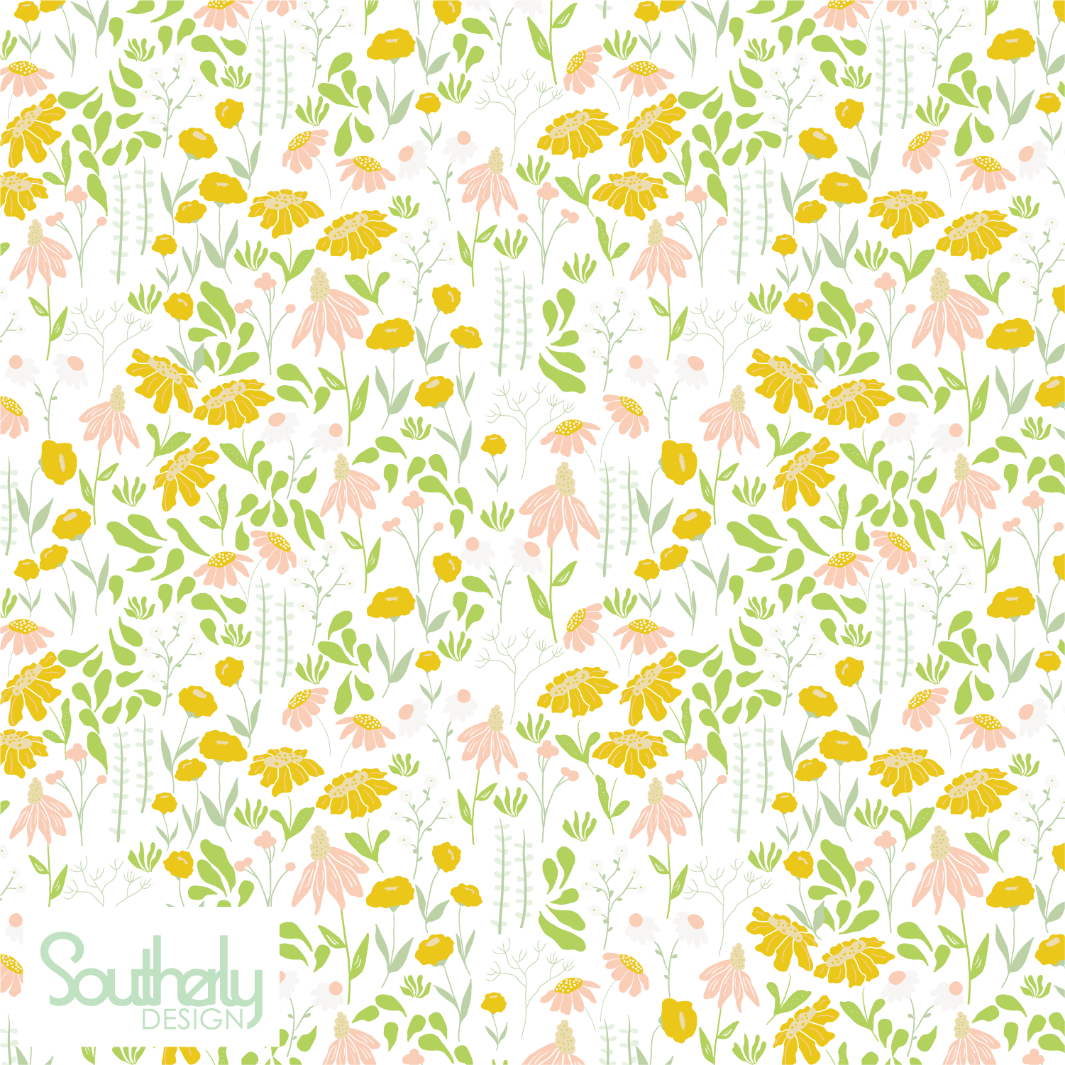 Floral Meadow Pattern