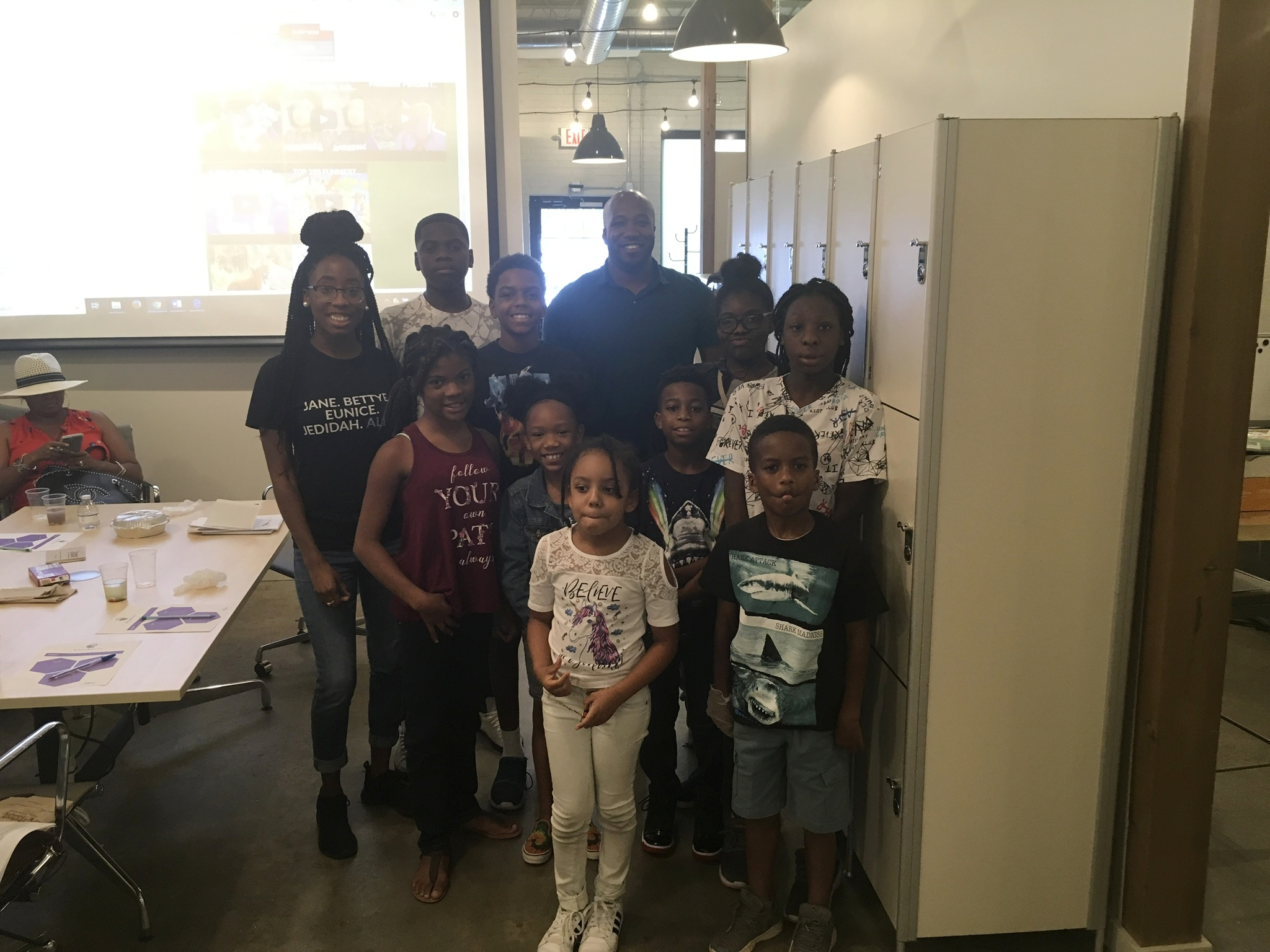 kids and teens tech and science day