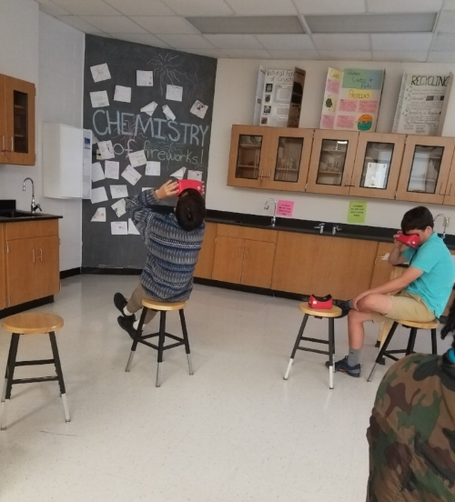VR Chatham Woman of color in stem