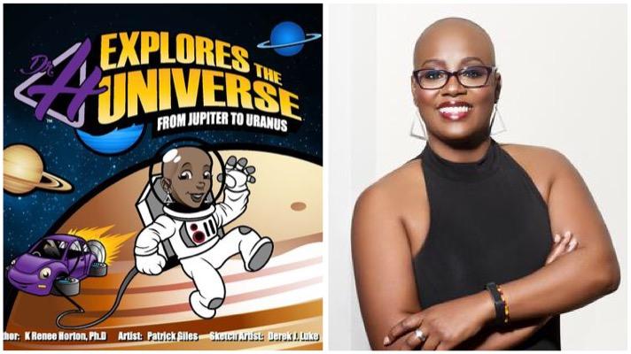 Dr. H explores the universe black woman in stem