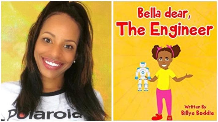 bella dear the engineer childrens book