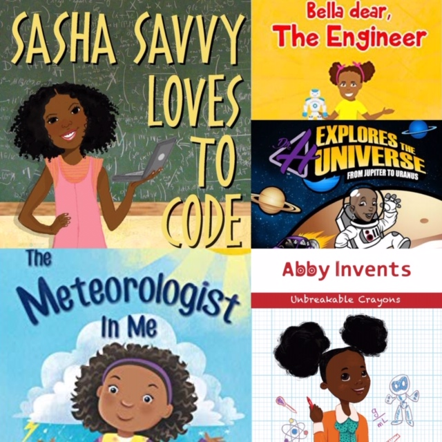 black girls stem books for black history month