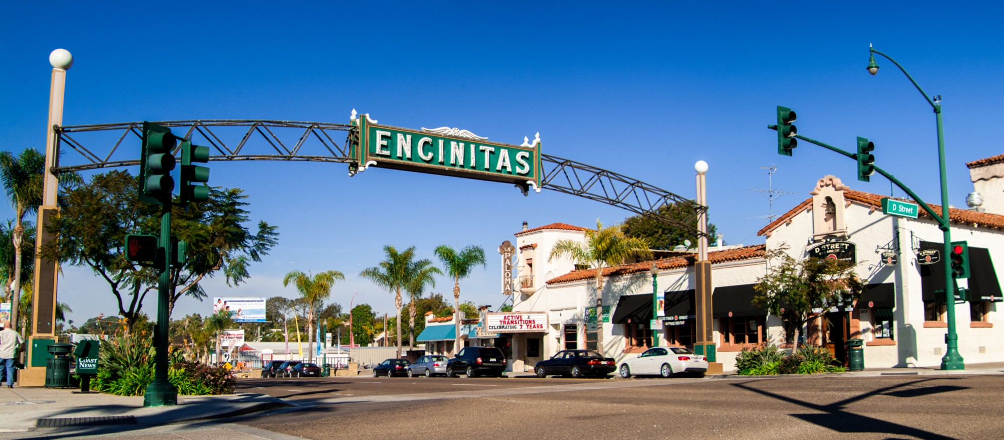 ENCINItAS  - laid back, cool village with beach vibe, restaurants and great street scape
