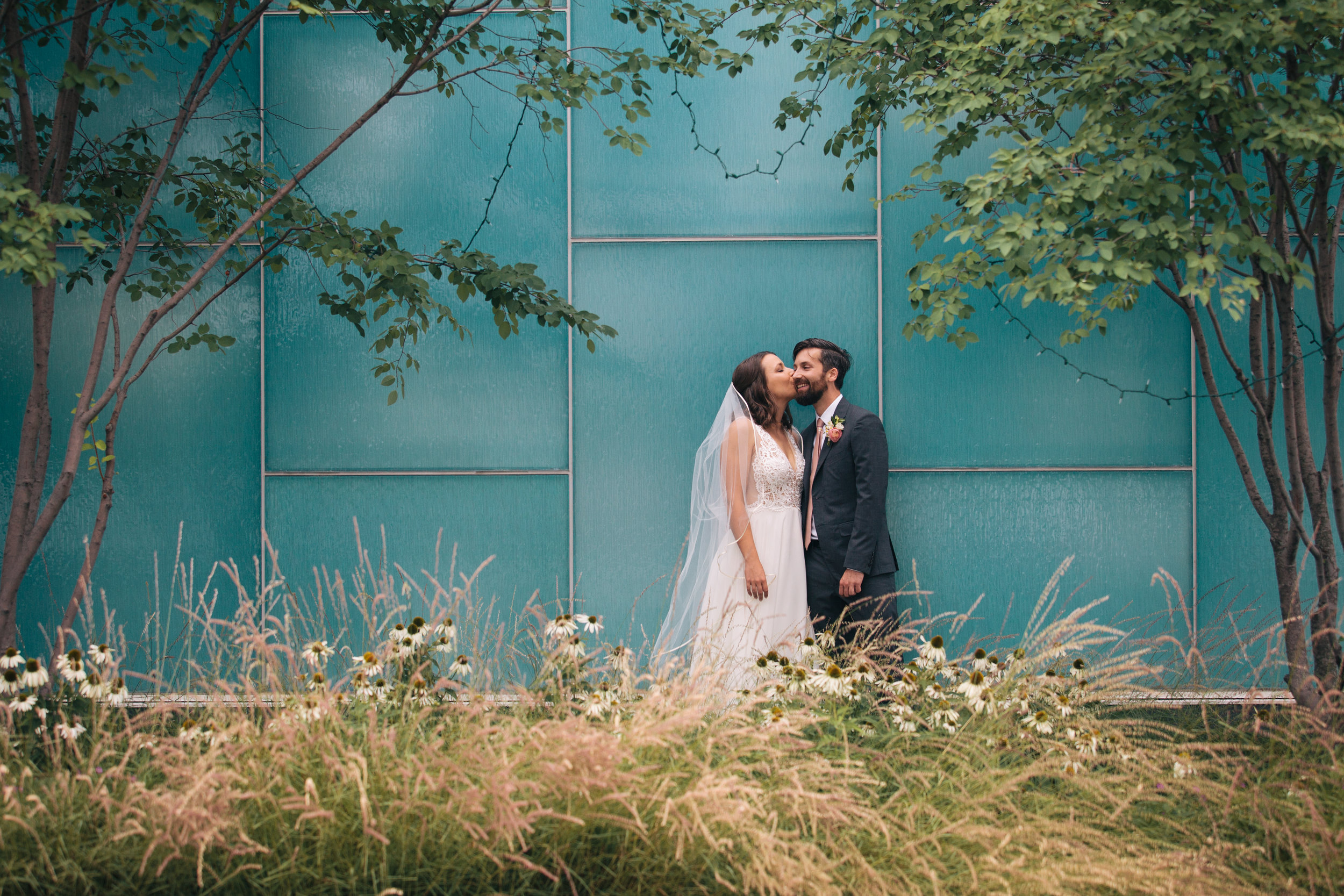 Meg & Mike - A laid-back, Swedish-inspired Minnesota wedding