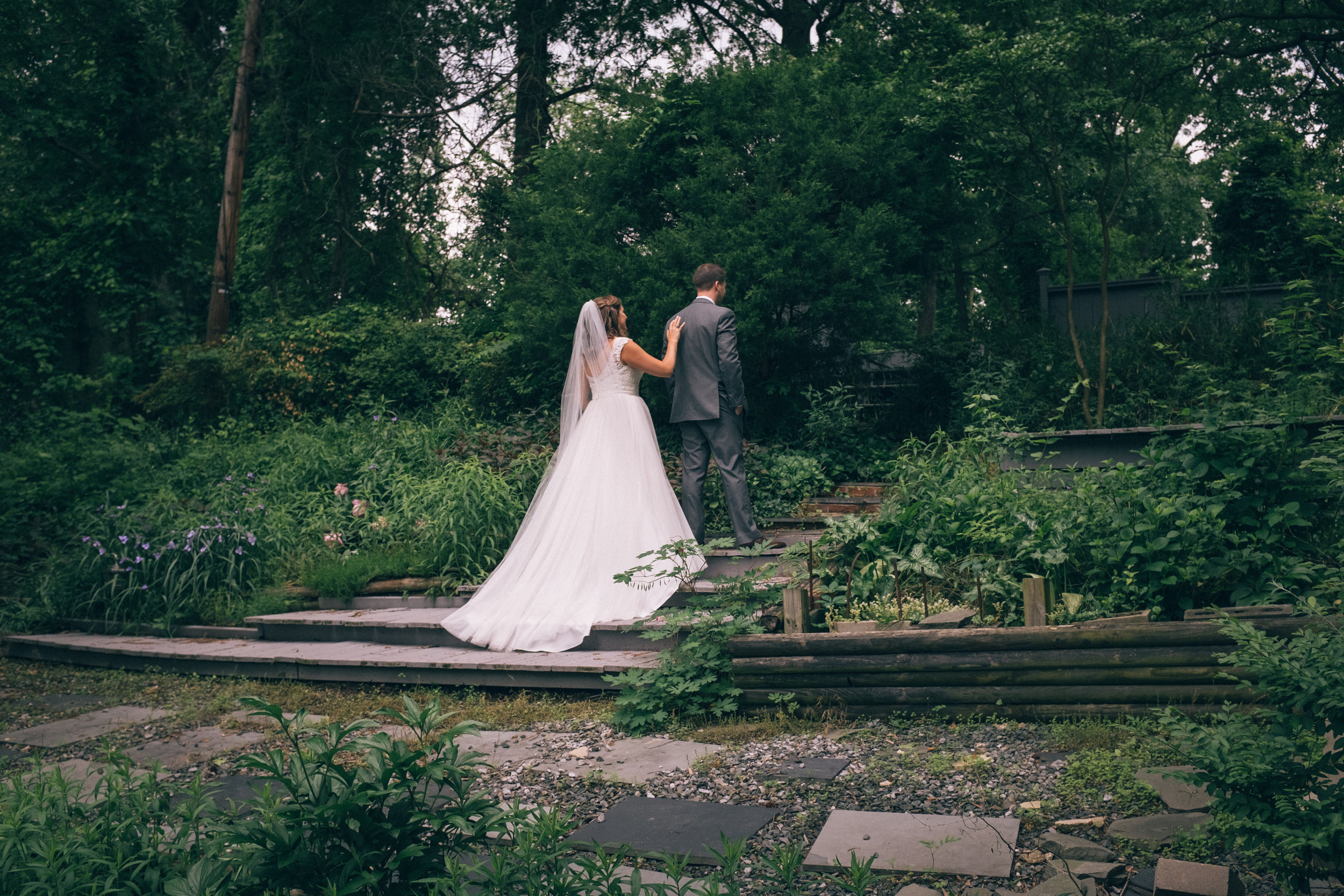 Emily & Steve - An intimate backyard wedding in Washington, D.C.
