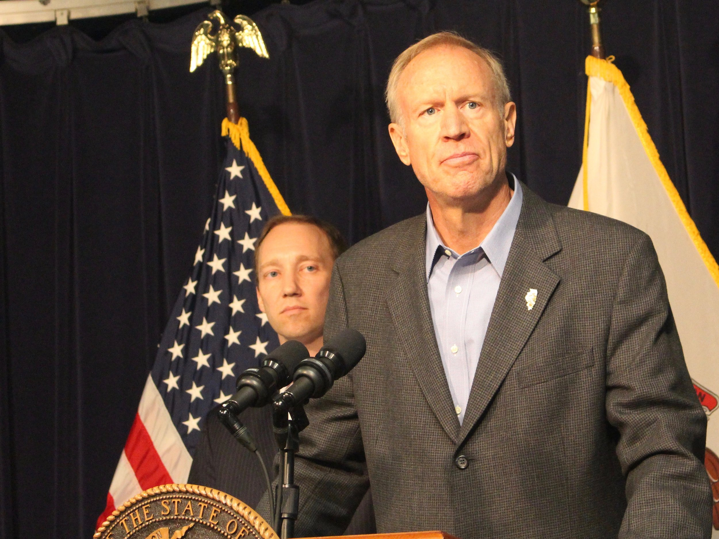 Gov. Bruce Rauner is proposing a major infrastructure investment for state roads. (One Illinois/Ted Cox)
