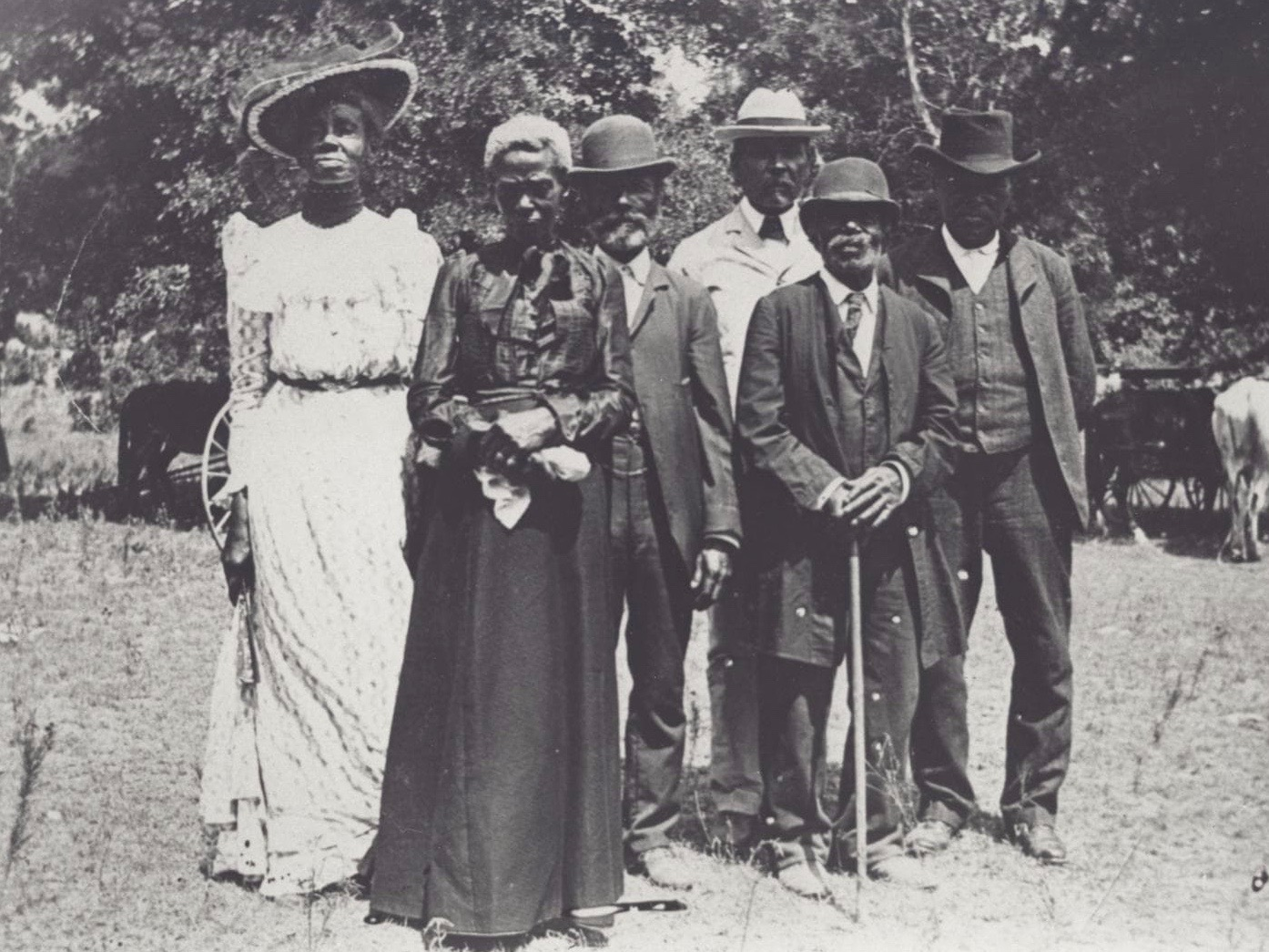 Juneteenth celebrants pose for a photo in Texas in 1900. (Wikimedia Commons)
