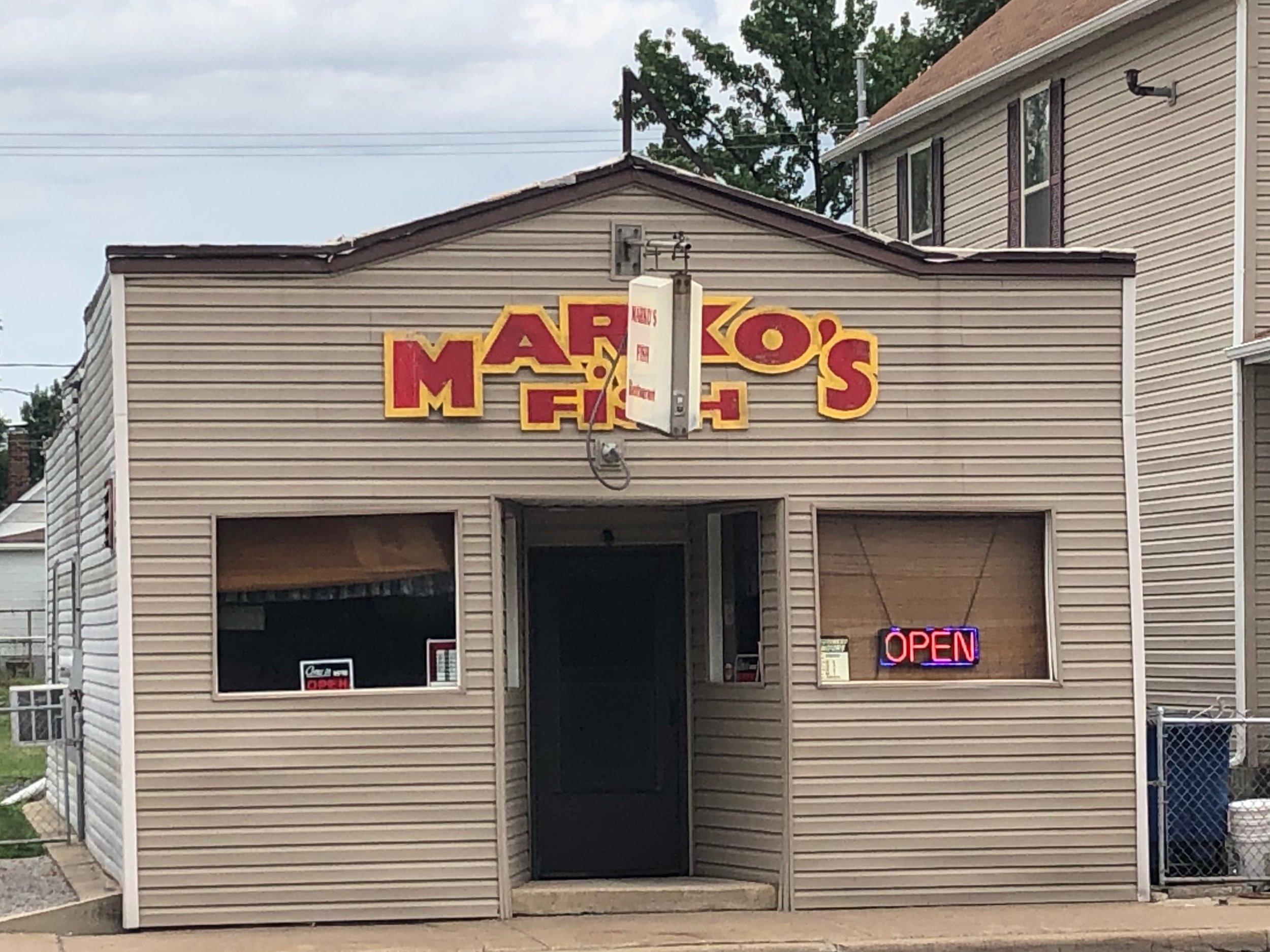 Marko's Fish House in Madison: feel lucky if you find it open. (One Illinois/Ted Cox)