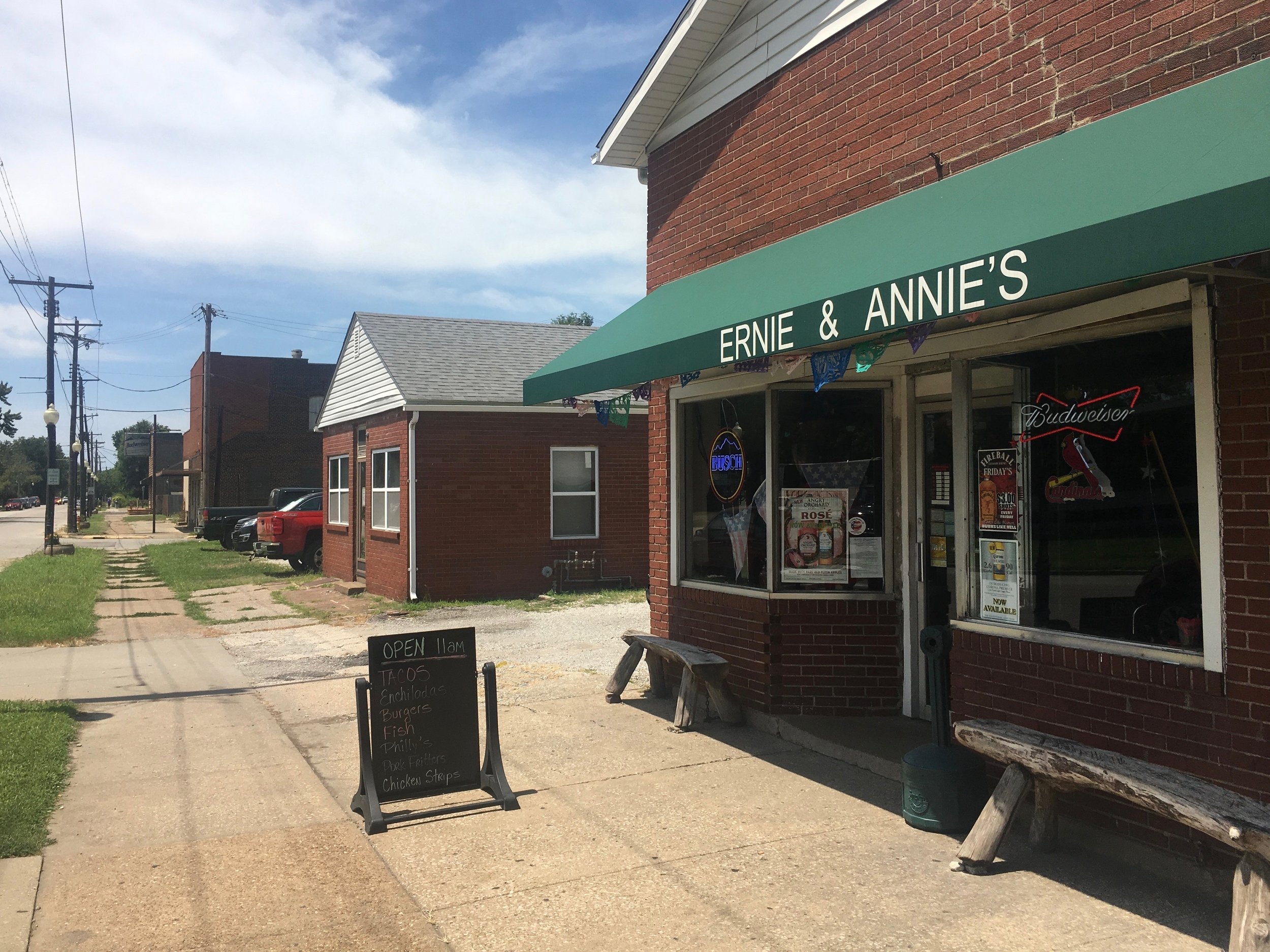 Ernie & Annie's in Granite City: one of the places along the Great River Road specializing in the local delicacy of deep-fried tacos. (One Illinois/Zachary Sigelko)