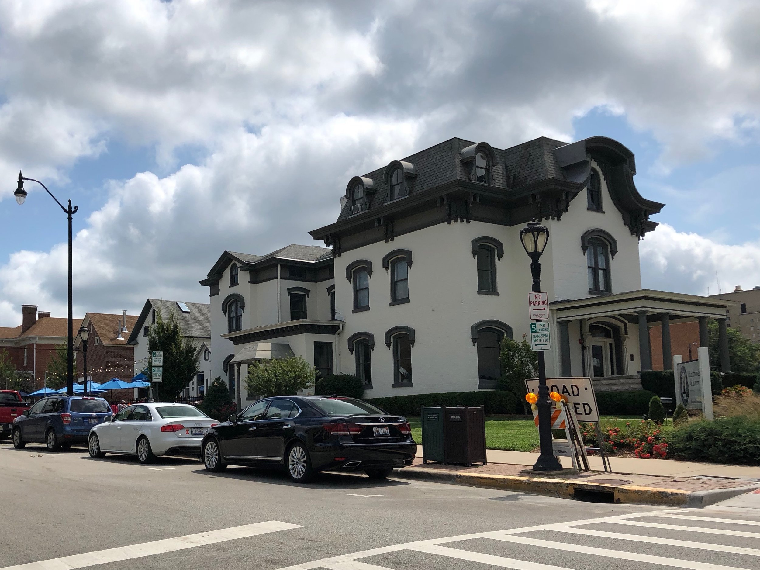 Obed & Isaac's is a microbrewery in a preserved and relocated mansion that might just serve Springfield's best horseshoe. (One Illinois/Zachary Sigelko)