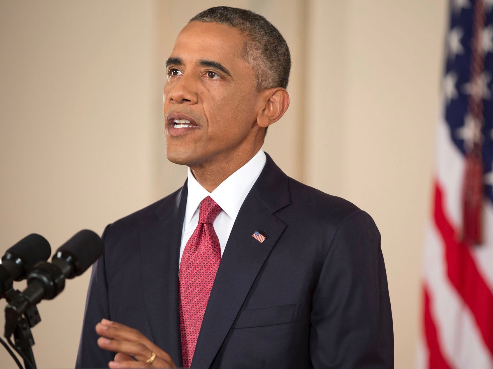 President Obama ripped Republicans, dismissed President Trump, and called young voters to action in a speech Friday at the University of Illinois. (Obama White House Archives)