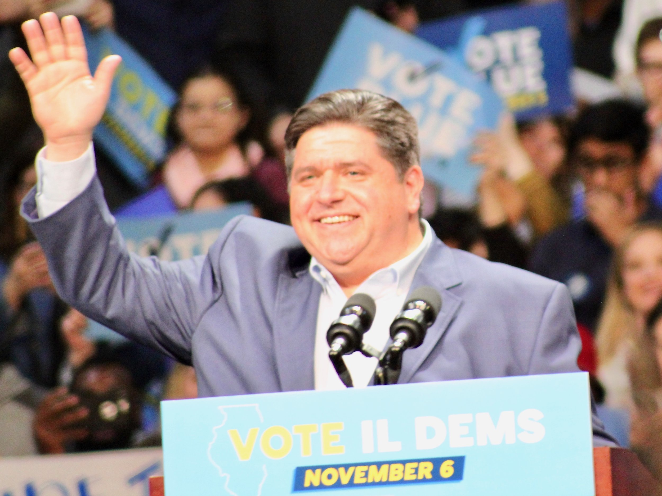 Gov.-elect J.B. Pritzker will join in the Dec. 3 celebration of the Illinois bicentennial. (One Illinois/Ted Cox)