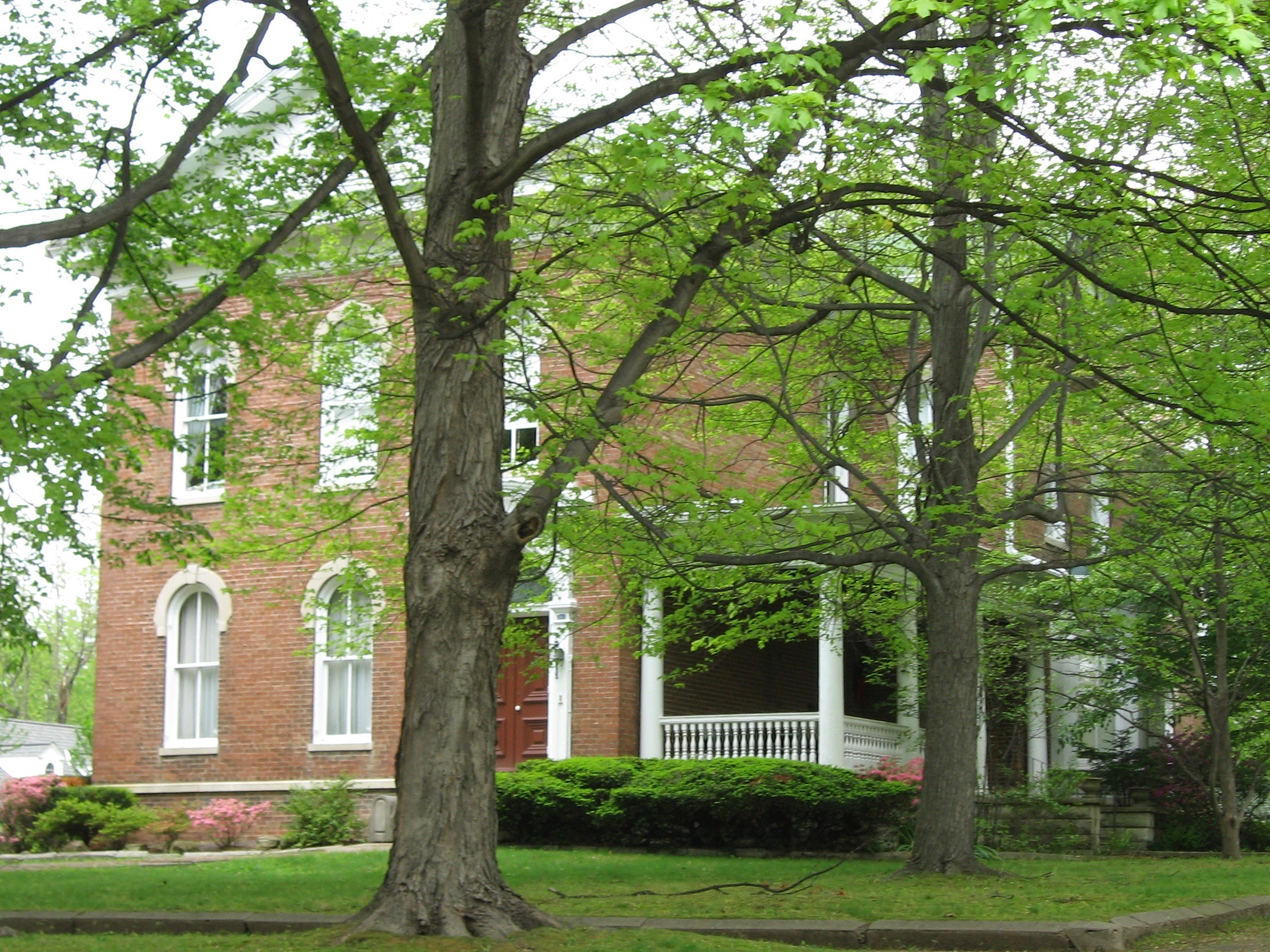 Beall-Orr House in Mount Carmel in Wabash County is on the National Registry of Historic Places. (Public Domain)