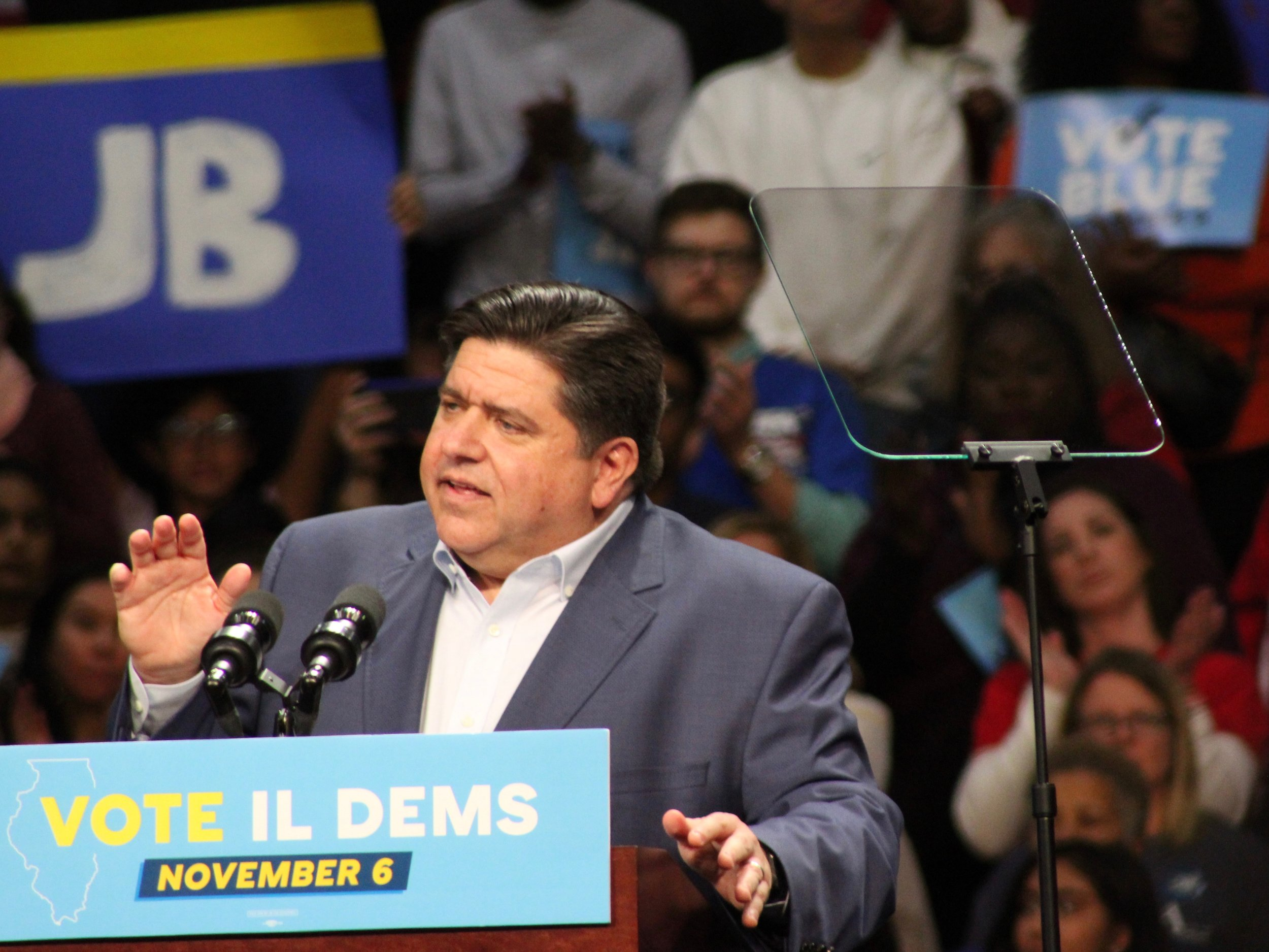 "Gov.-elect Pritzker has pledged to ""protect the environment in Illinois."" (One Illinois/Ted Cox)"