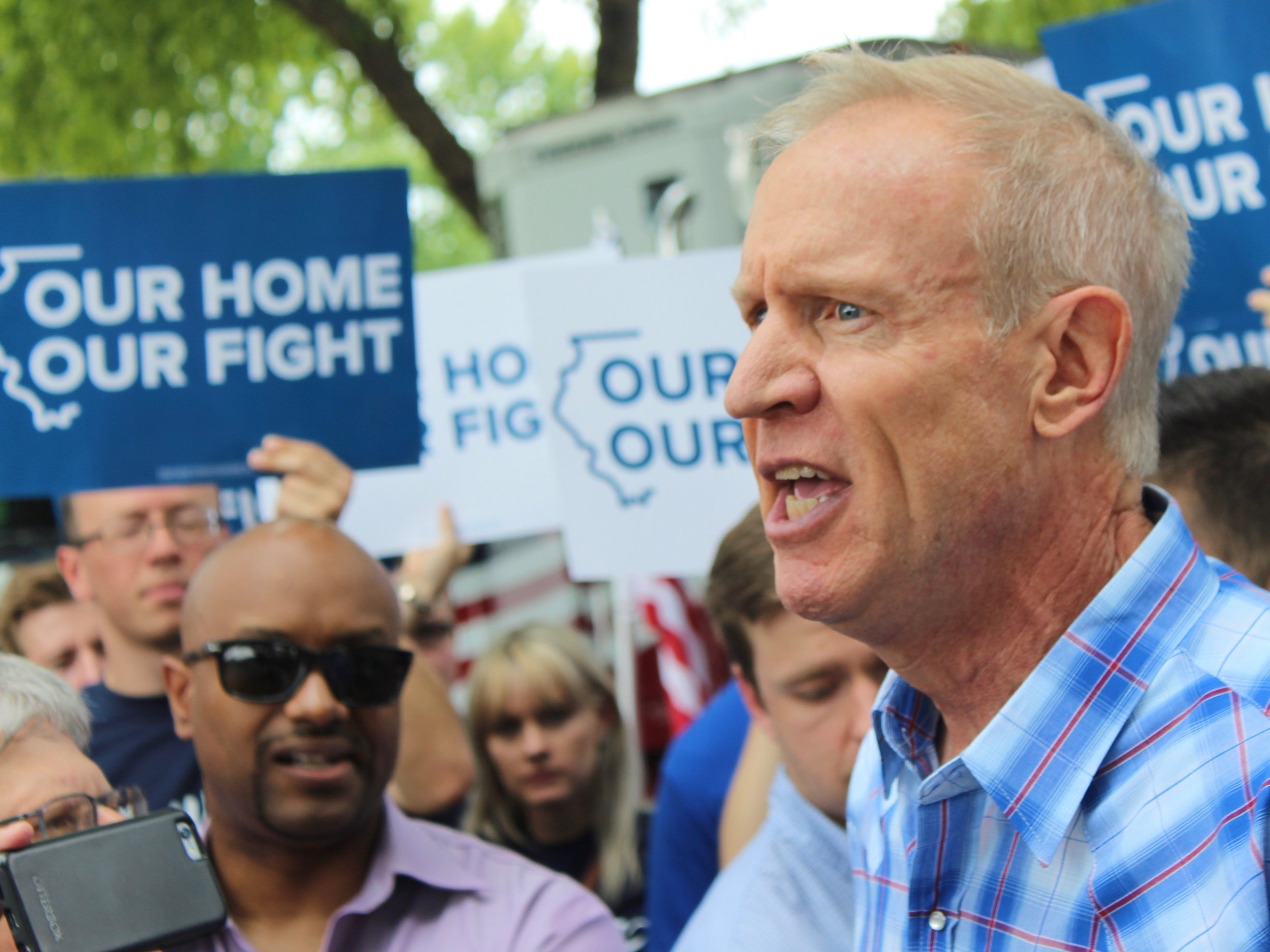 Gov. Rauner is suing to withhold emails on how he determined government appointments. (One Illinois/Ted Cox)