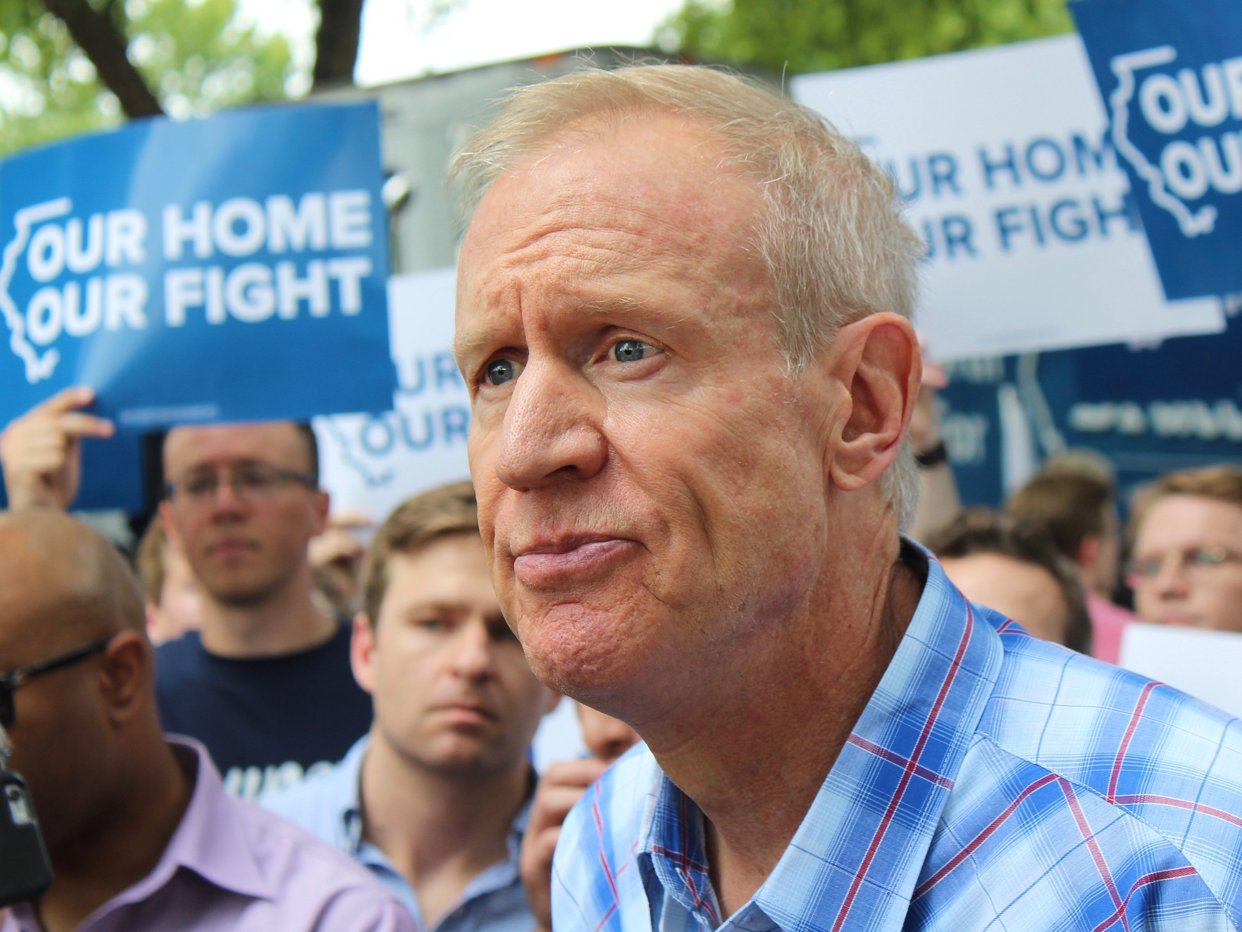 """Gov. Rauner believes that even being required to release 1,783 emails would """"substantially hinder the operations of government."""" (One Illinois/Ted Cox)"""