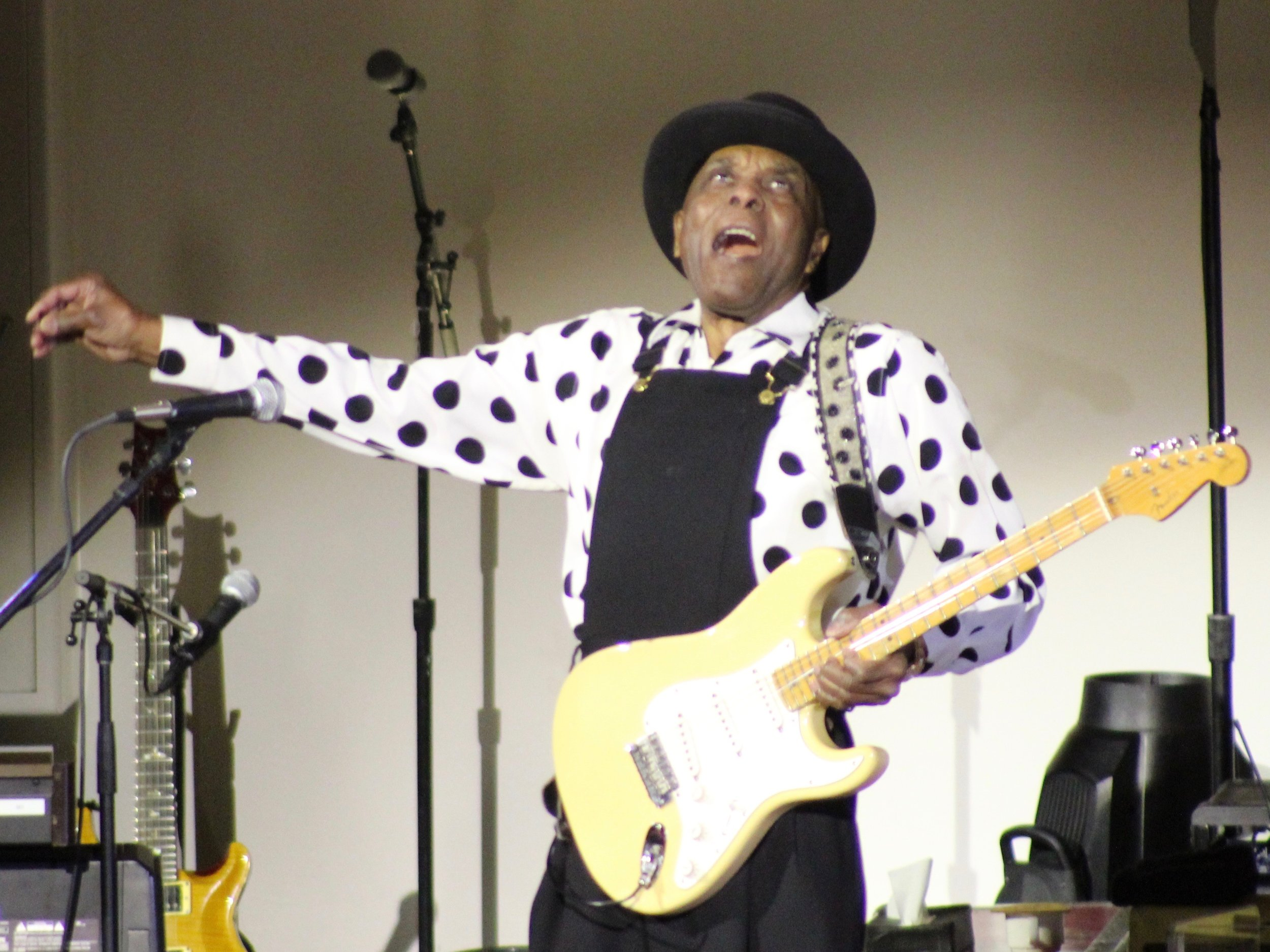 Blues artist Buddy Guy was the headline act at the Illinois bicentennial celebration. (One Illinois/Ted Cox)