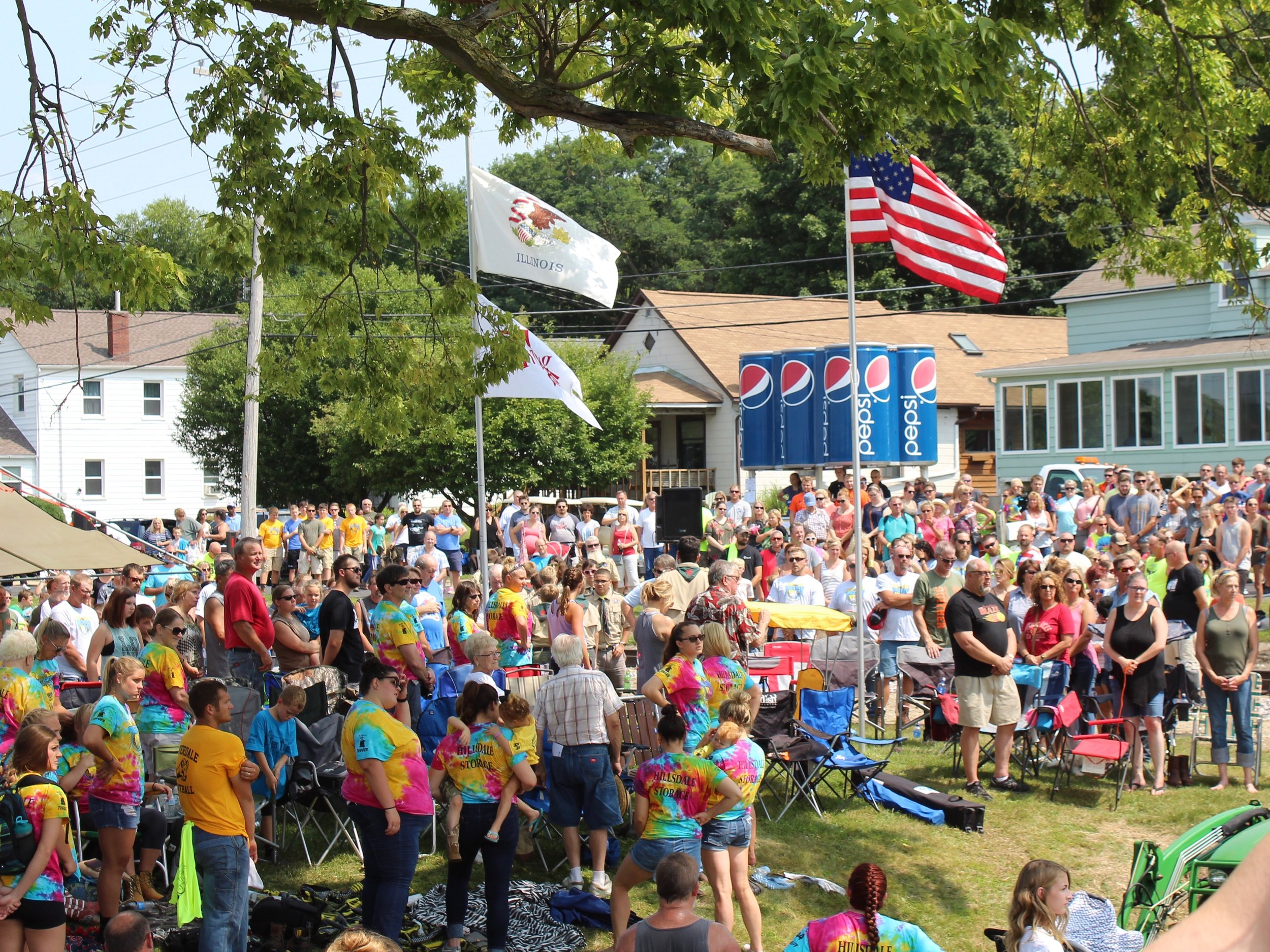 Illinoisans attend the Port Byron Tug Fest this summer. (One Illinois/Ted Cox)