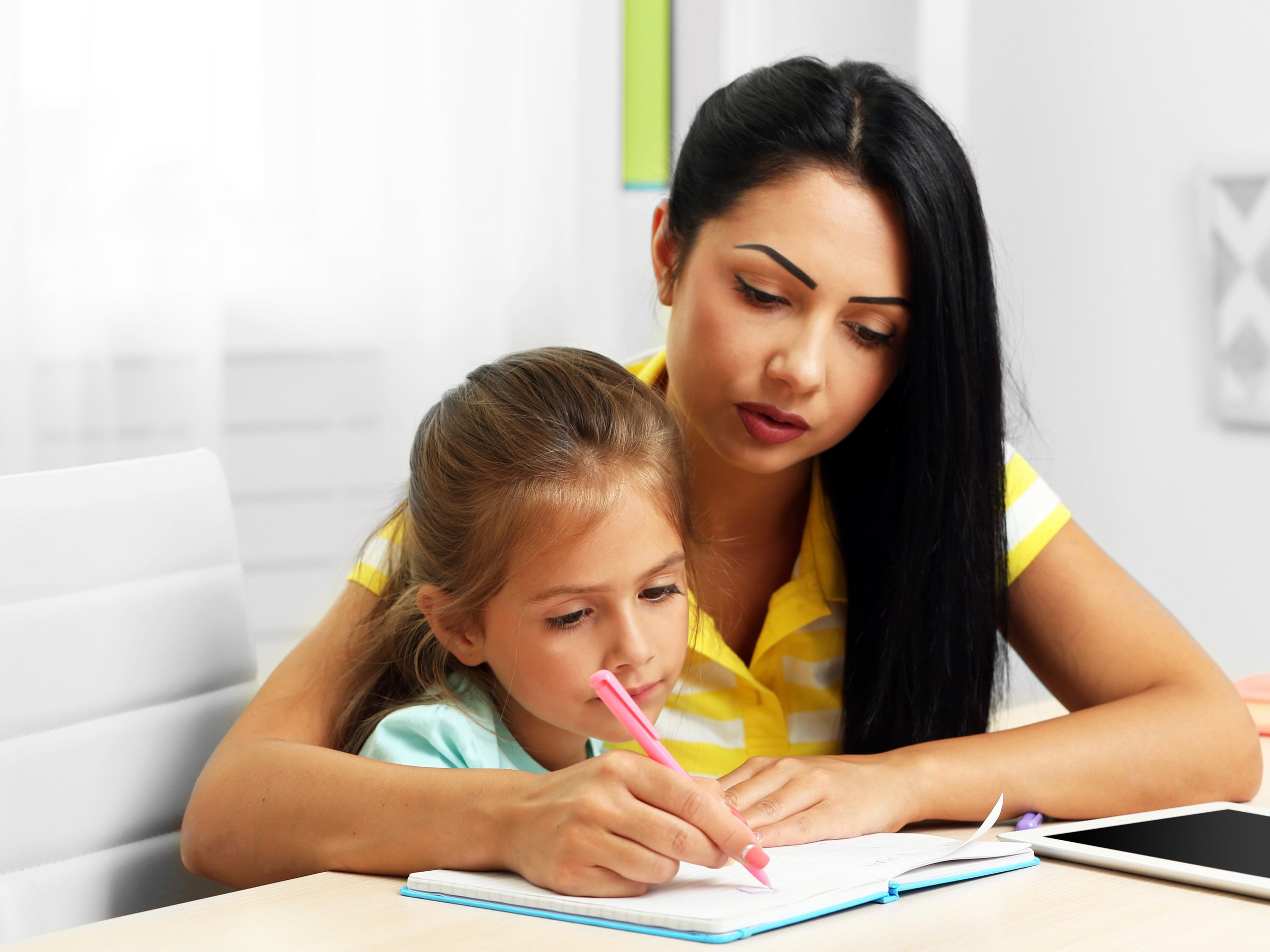 Parents are increasing instruction time spent with young children, in part to give them a leg up on other kids. (Shutterstock)