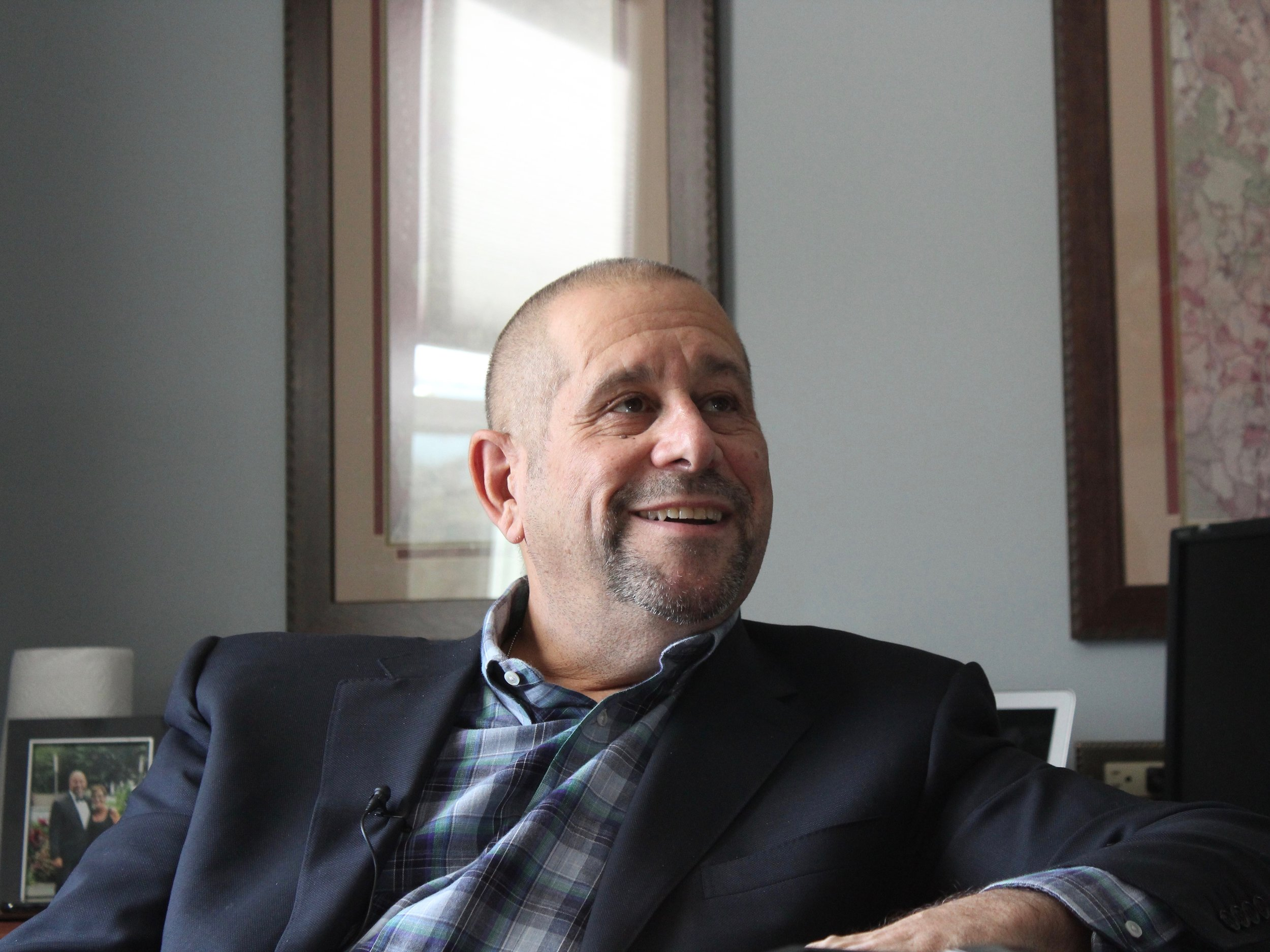 Things are looking up for Grassroots Cannabis CEO Mitch Kahn — and they're not so bad as they are with the state's existing program for medical marijuana. (One Illinois/Ted Cox)