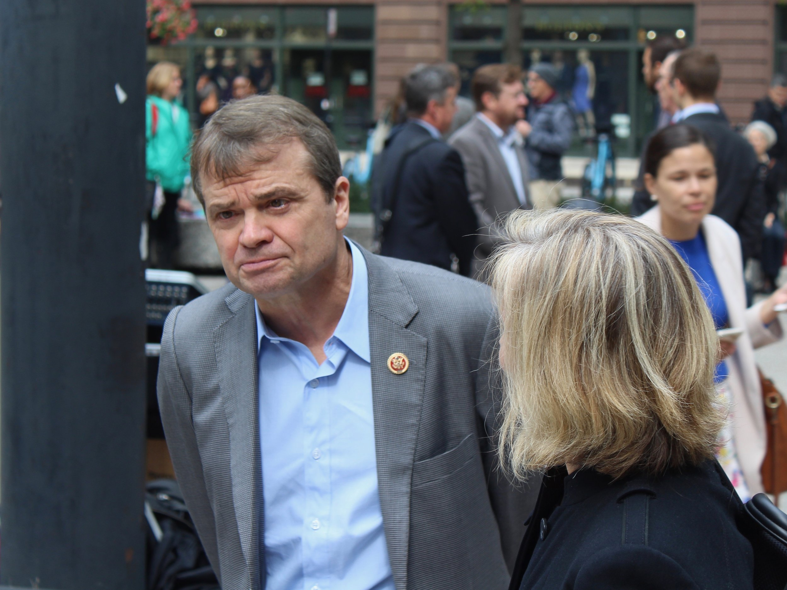 Congressman Mike Quigley has been one of President Trump's harshest critics, but nevertheless voted with the president more often than vote tallies would have suggested. (One Illinois/Ted Cox)