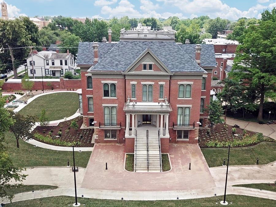 The $15 million renovation of the Governor's Mansion in Springfield has resulted in LEED certification as a green building. (Facebook/Illinois Governor's Mansion Association)