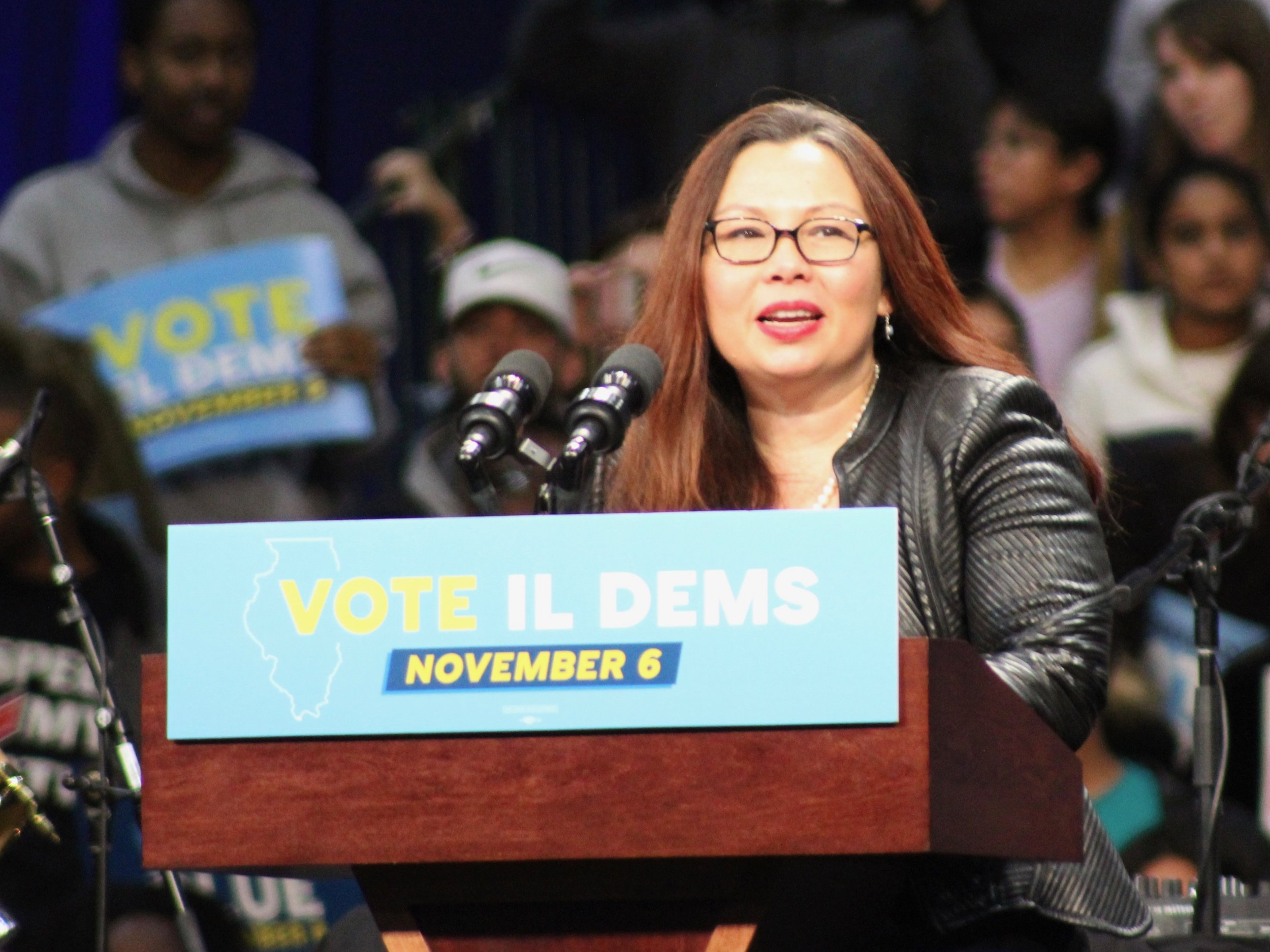 Sen. Tammy Duckworth is calling for more congressional oversight on hiring and preferential raises given at the EPA. (One Illinois/Ted Cox)