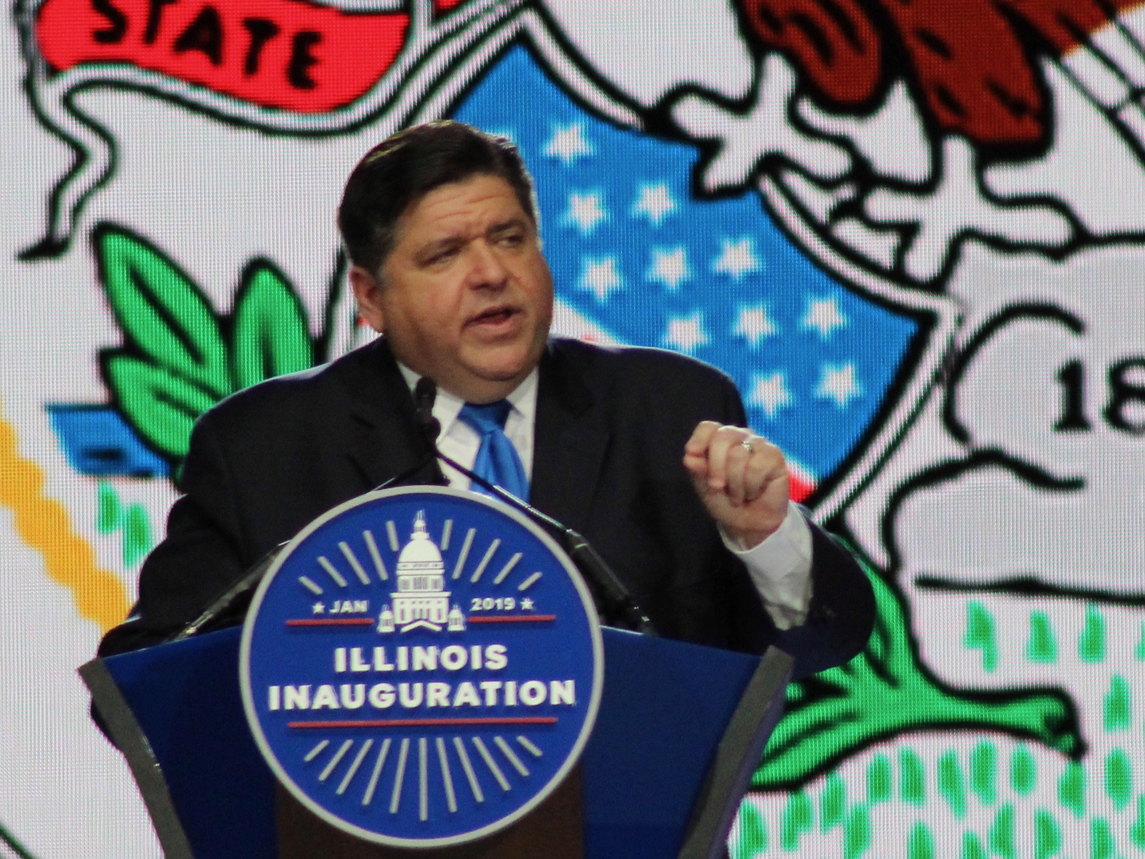 """We also should look at sports betting in this state."" - Gov. J.B. Pritzker (One Illinois/Ted Cox"