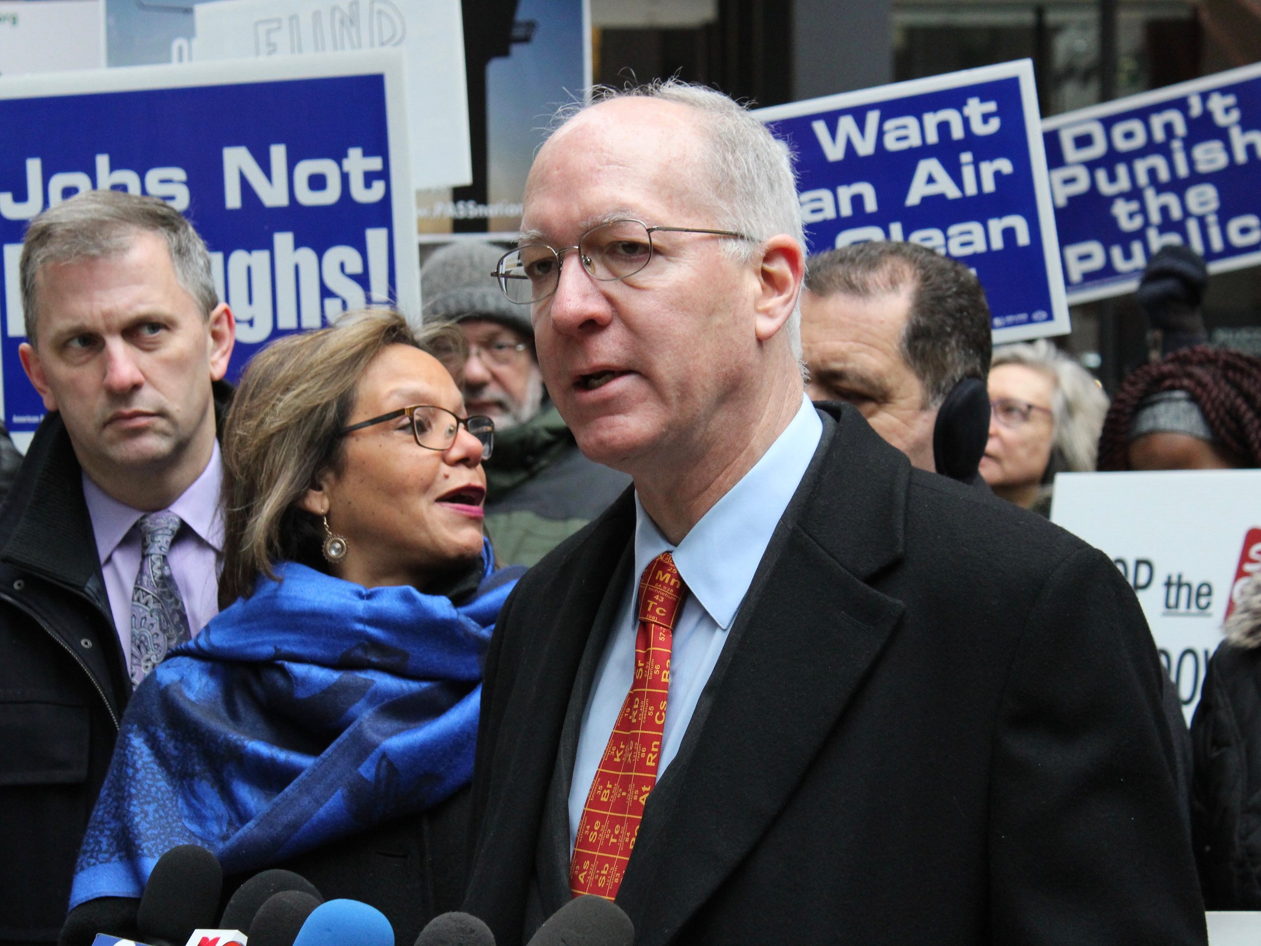 """The people of Illinois and our nation deserve a government that will use the most effective tools and procedures to protect their health."" - U.S. Rep. Bill Foster (One Illinois/Ted Cox)"