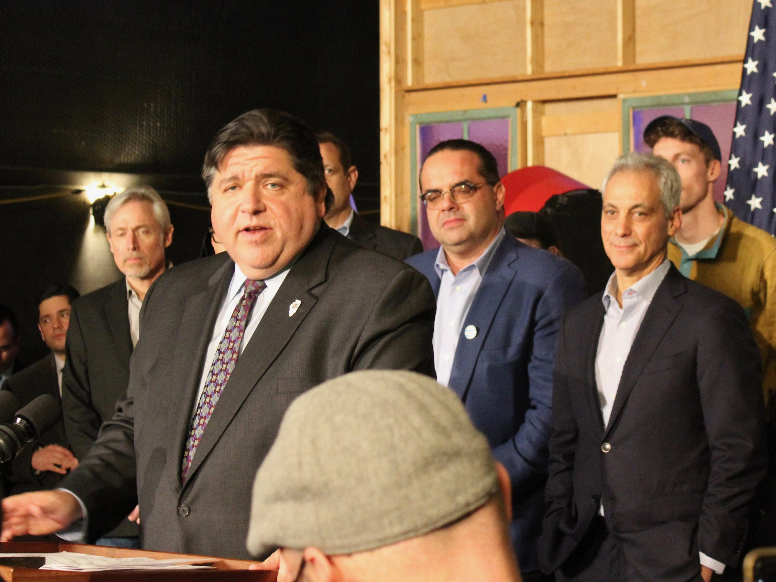 """The Illinois film industry is on the rise, and it's not slowing down."" - Gov. J.B. Pritzker"