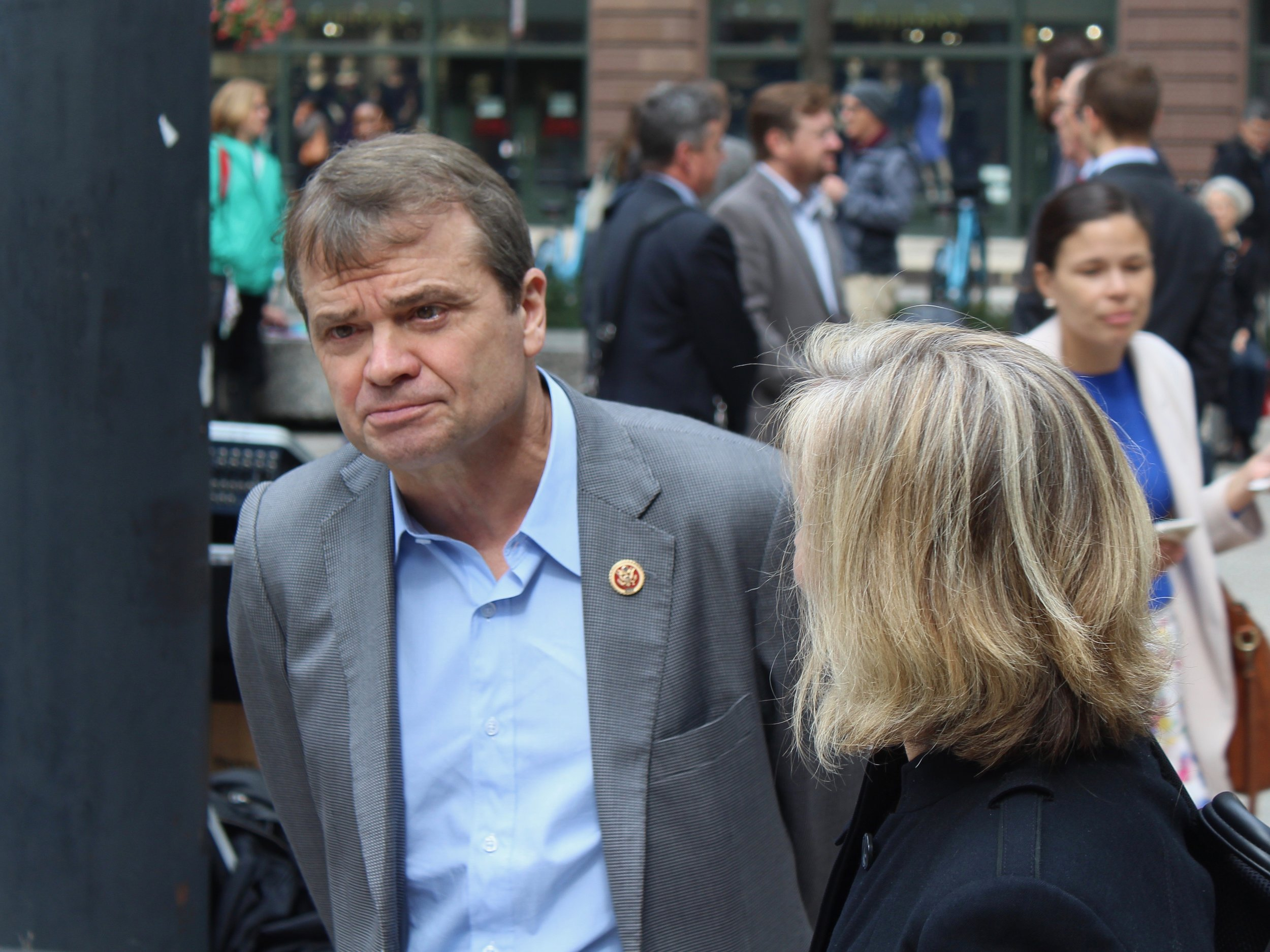 Congressman Mike Quigley grilled the EPA head on concerns over ethylene oxide on Tuesday. (One Illinois/Ted Cox)