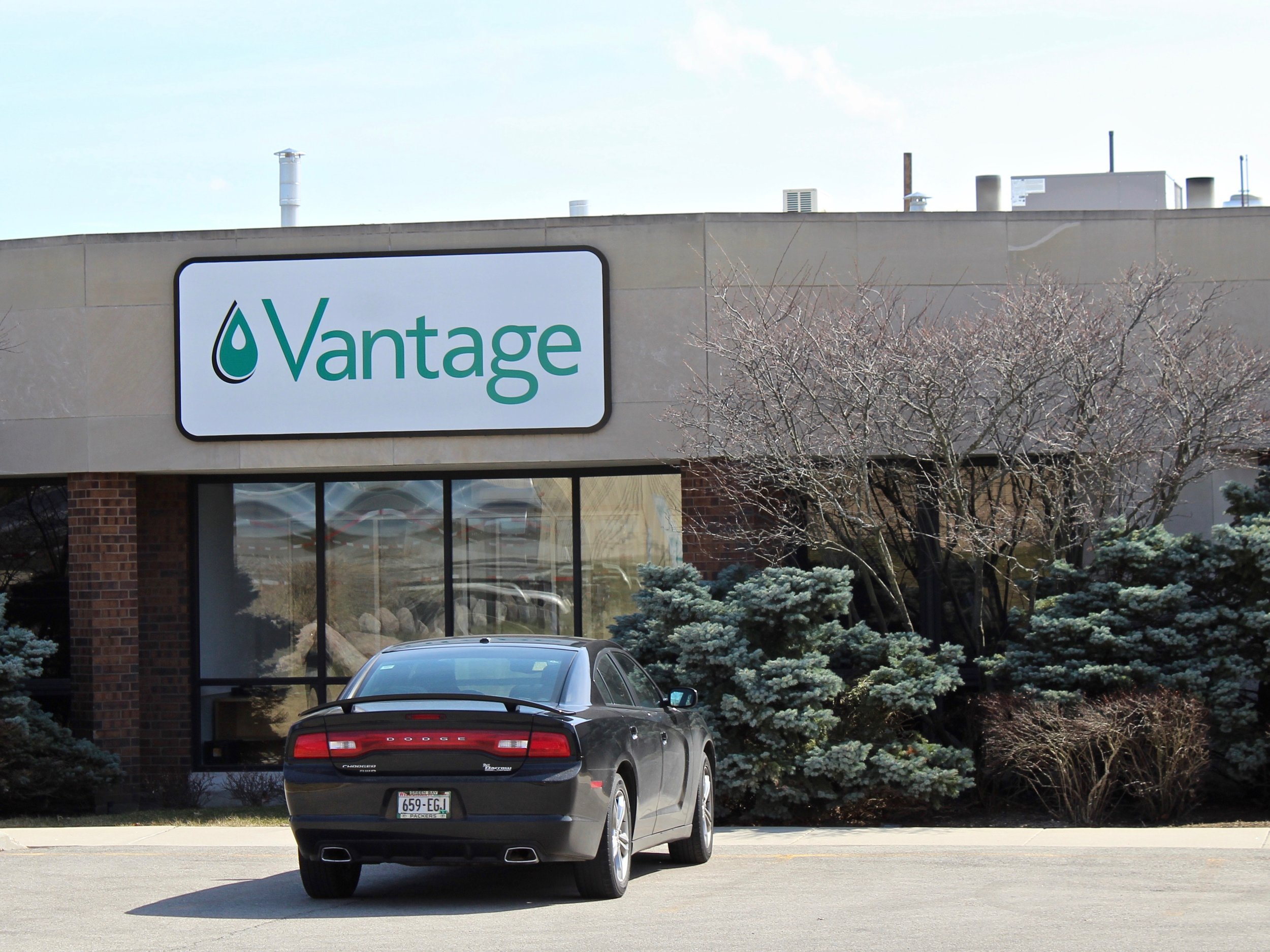 Vantage Specialty Chemicals in Gurnee is involved in a controversy over emissions of ethylene oxide in Lake County. (One Illinois/Ted Cox)