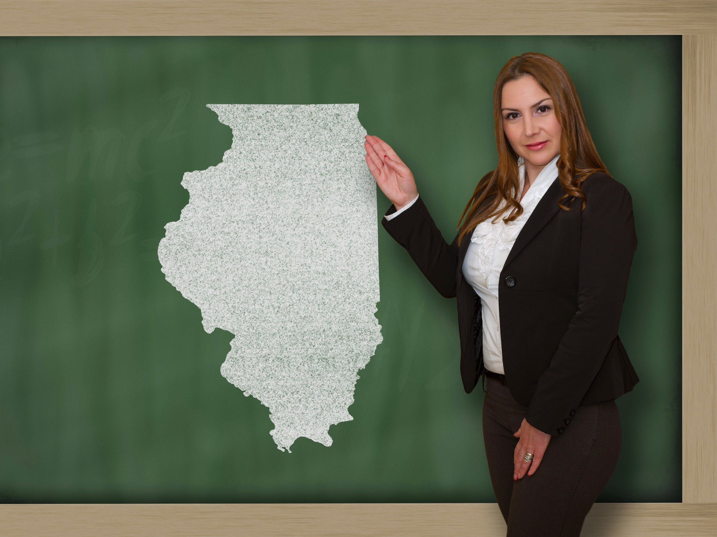 Like much of the nation, Illinois is reporting a teacher shortage. (Shutterstock)