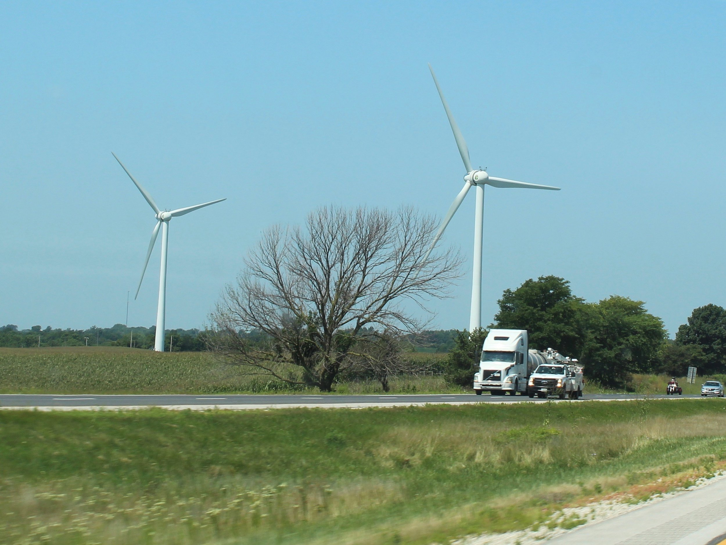 A new state law removes townships from the approval process for wind farms. (One Illinois/Ted Cox)