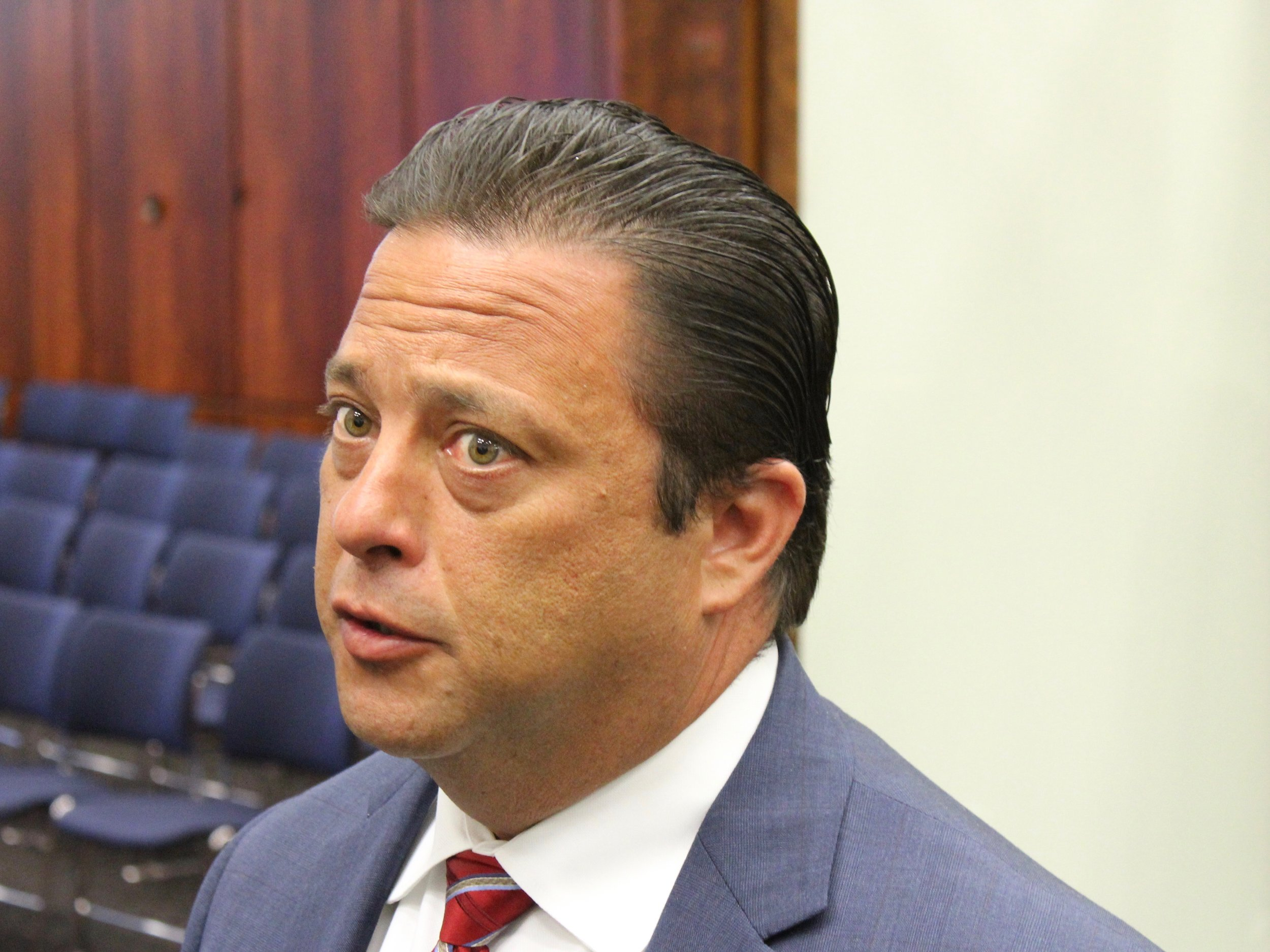 State Rep. Robert Rita wants to have a bill on legal sports gambling passed by the General Assembly by the end of its session May 31. (One Illinois/Ted Cox)