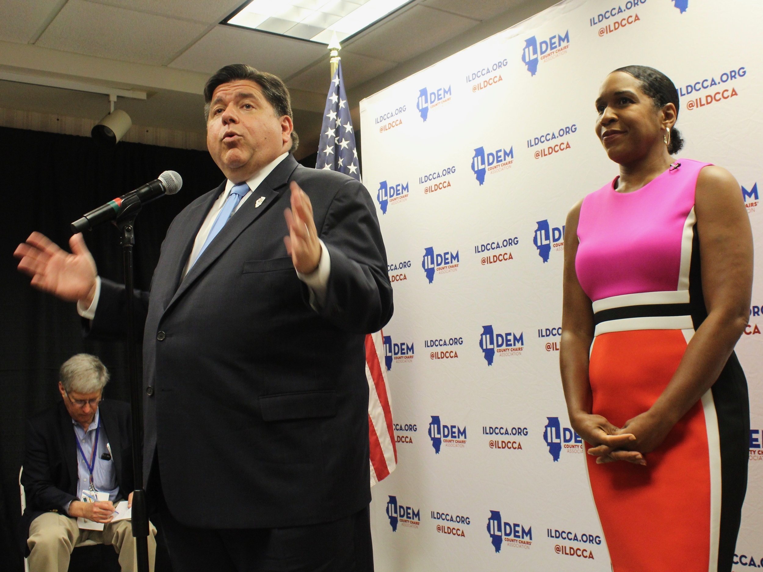 Gov. Pritzker and Lt. Gov. Stratton have made sure the legalization law lives up to sponsors' goals on so-called equity issues. (One Illinois/Ted Cox)