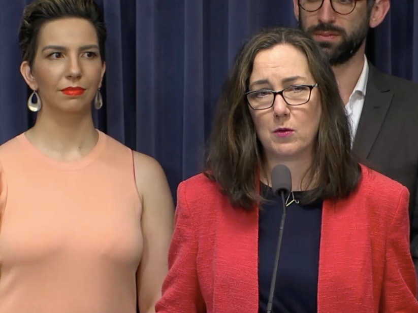"""Illinois must respond in kind with equal energy behind defending reproductive freedom."" - Rep. Kelly Cassidy (Blue Room Stream)"