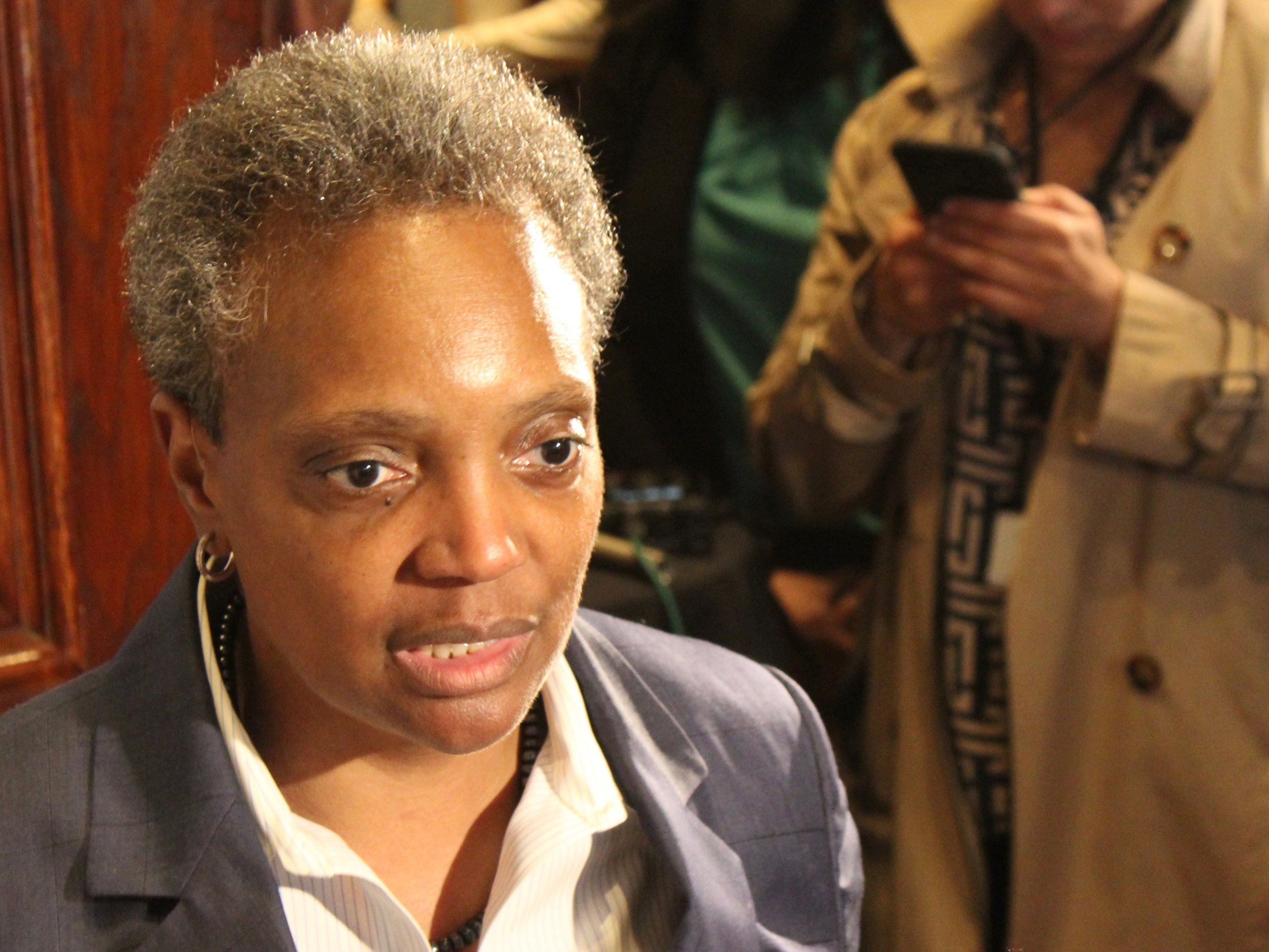 """We have to have a Chicago renaissance, and it starts with controlling the violence, the importance of our public schools, and getting our fiscal house in order."" - Chicago Mayor Lori Lightfoot (One Illinois/Ted Cox)"
