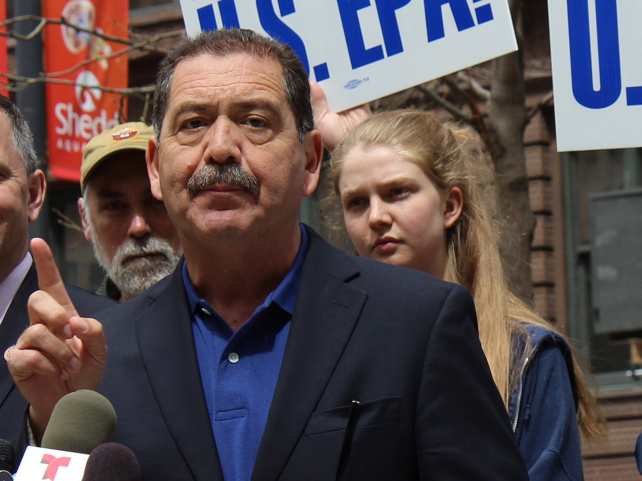 """Congressman Jesus """"Chuy"""" Garcia isn't backing down from his call for an impeachment probe, labeling the conduct of President Trump """"rather treasonous."""" (One Illinois/Ted Cox)"""